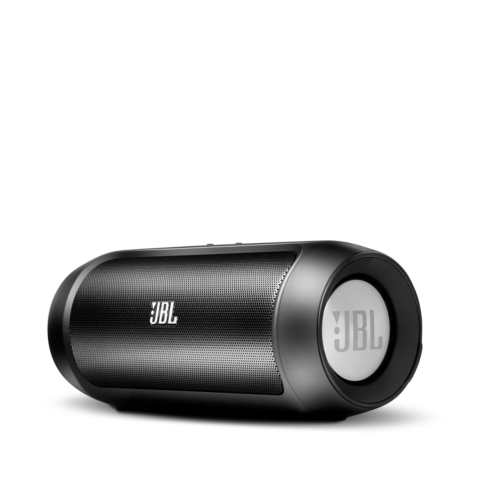 JBL Charge 2 - Black - Portable Bluetooth speaker with massive battery to charge your devices - Hero