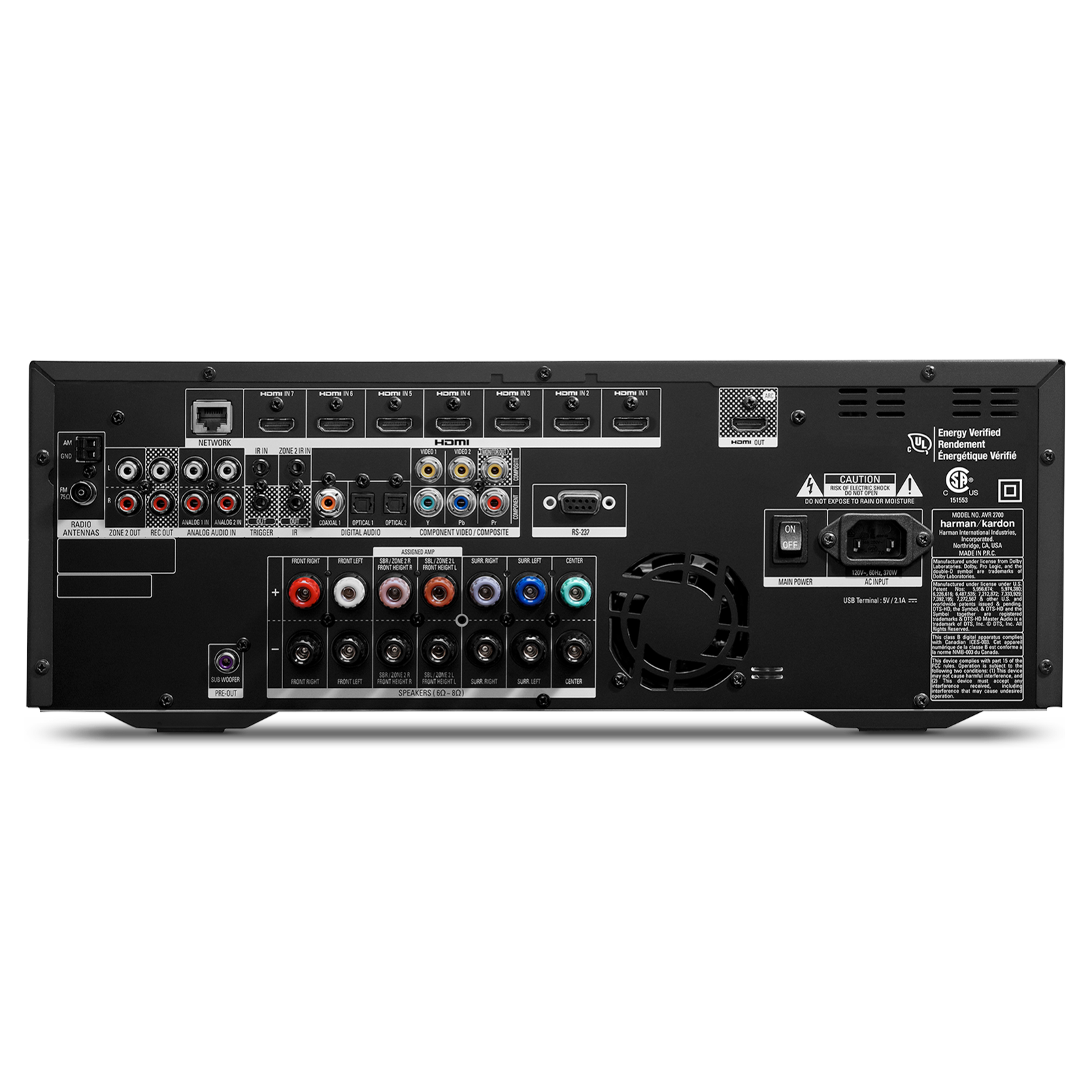 avr 2700 7 1 channel network connected audio video receiver with rh harmanaudio com avr 247 service manual avr 247 service manual