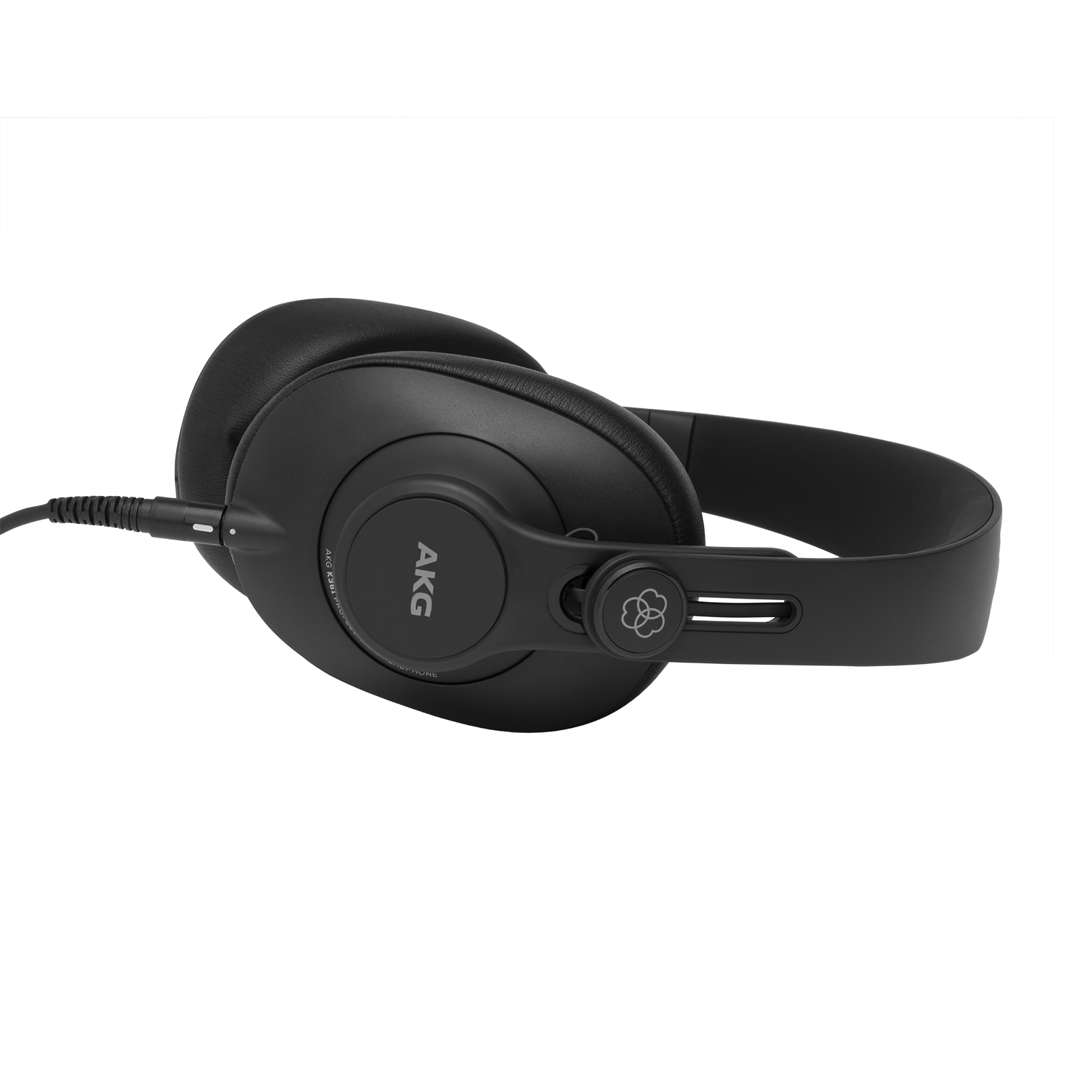 K361 - Black - Over-ear, closed-back, foldable studio headphones  - Left
