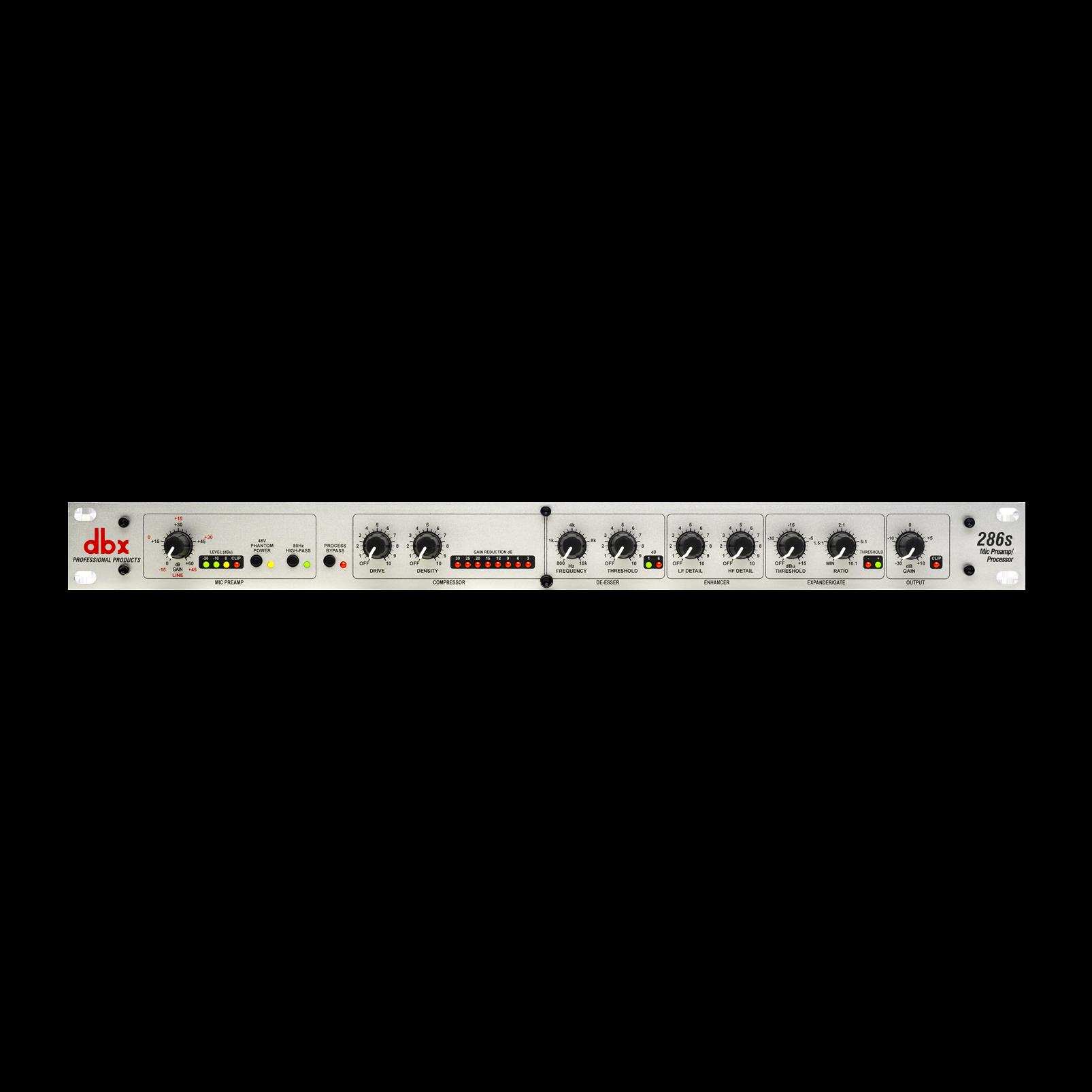 286s - White - Microphone Pre-amp Processor - Hero