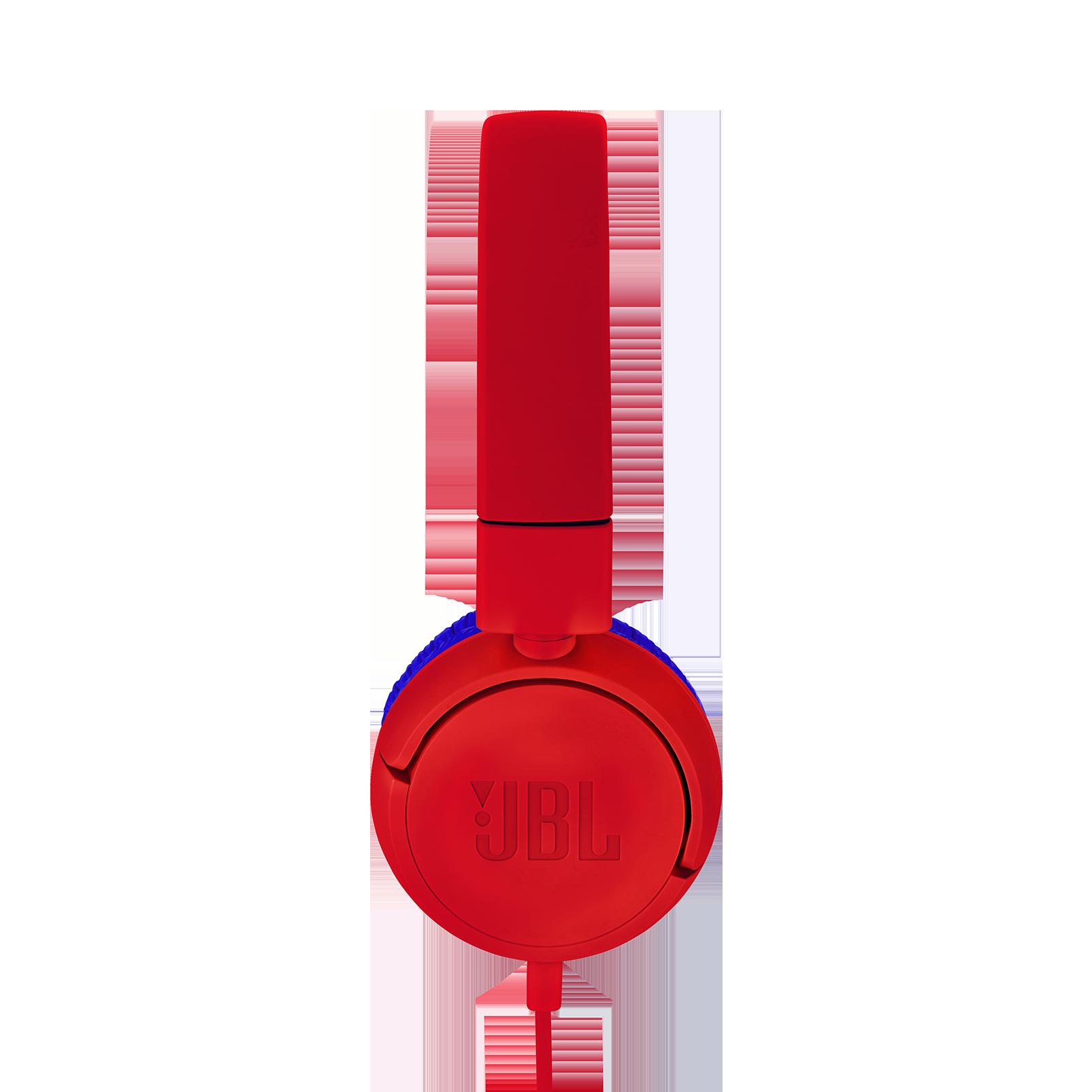 JBL JR300 - Red - Kids on-ear Headphones - Detailshot 1