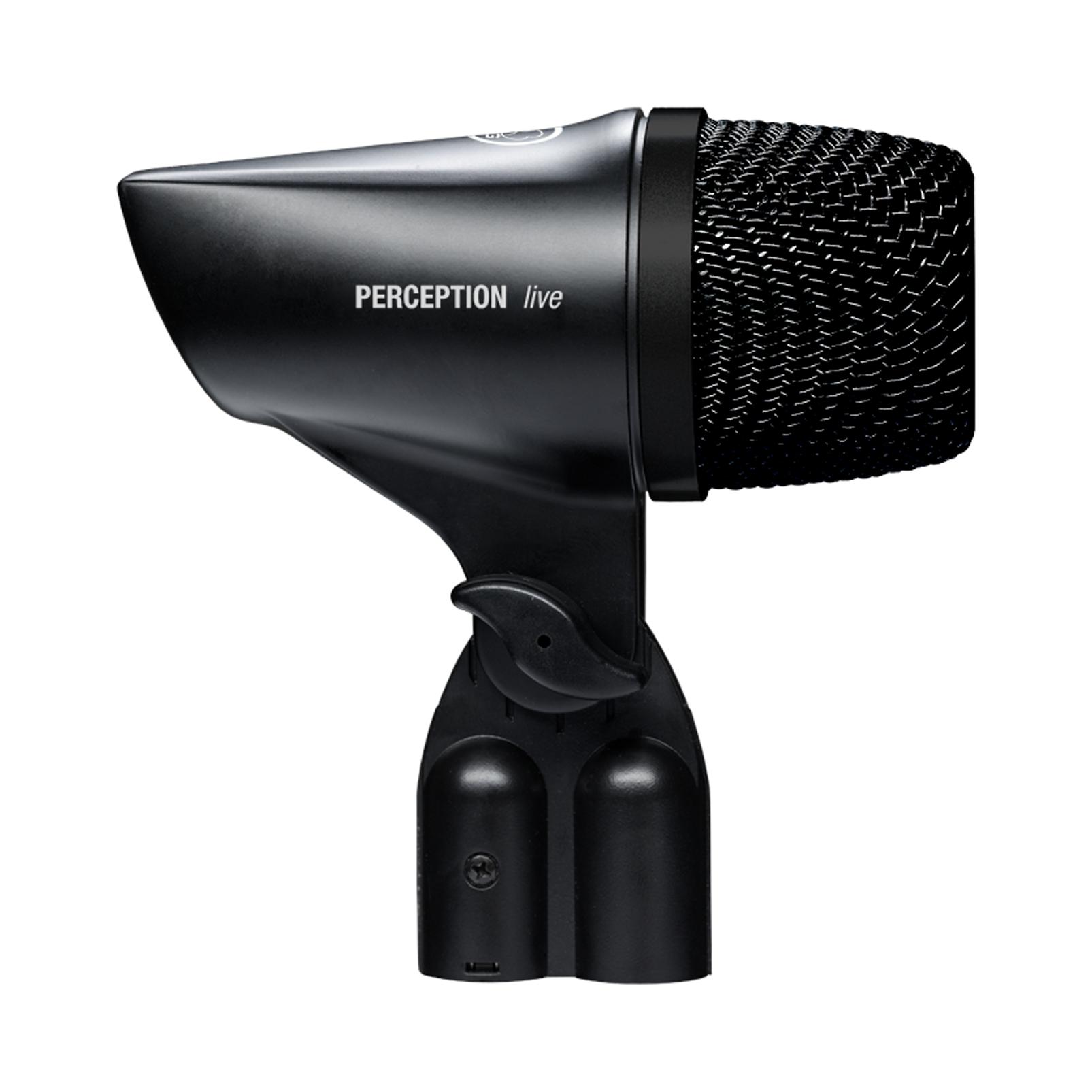 P2 - Black - High-performance dynamic bass microphone - Left