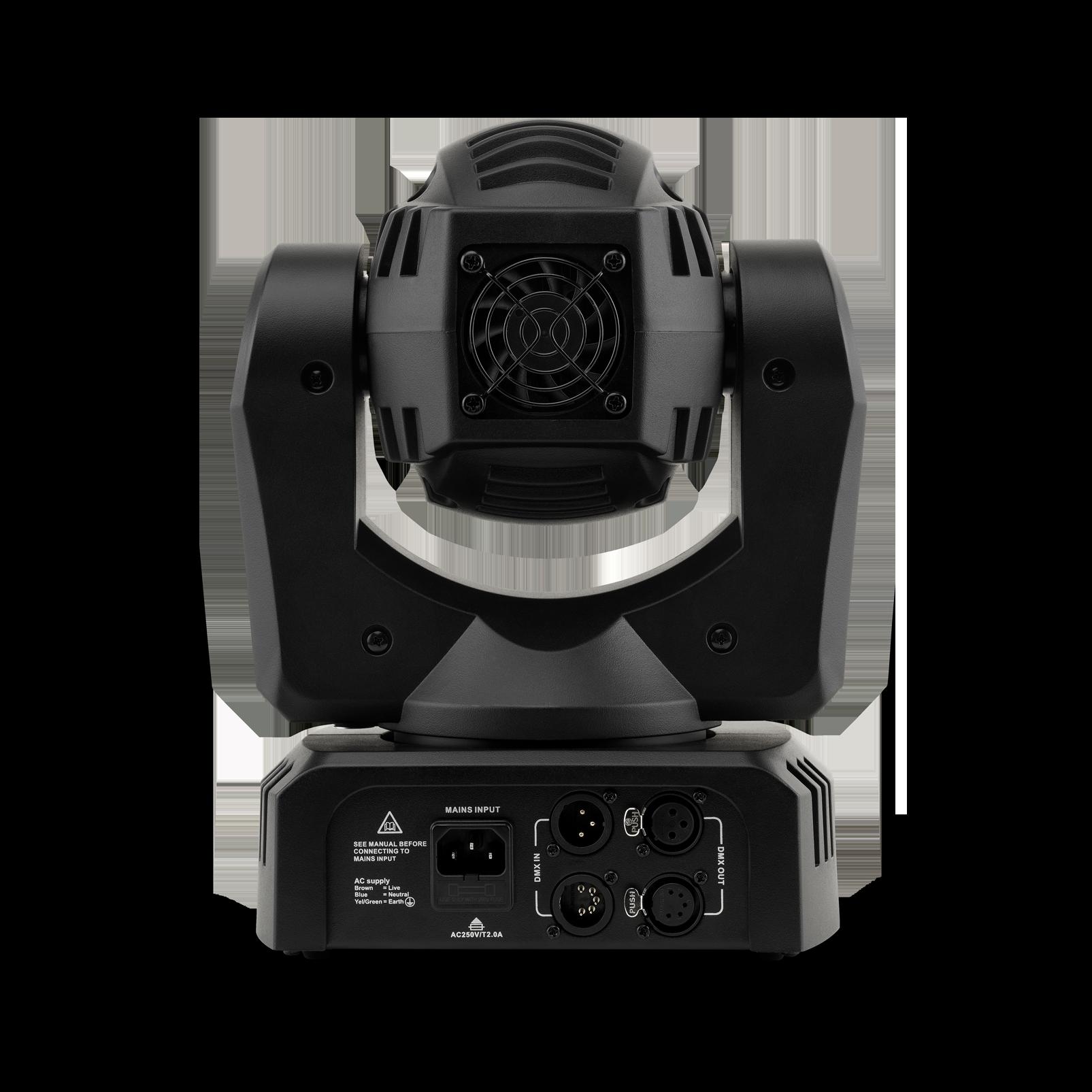 THRILL Mini Profile - Black - Compact LED Moving Head - Back