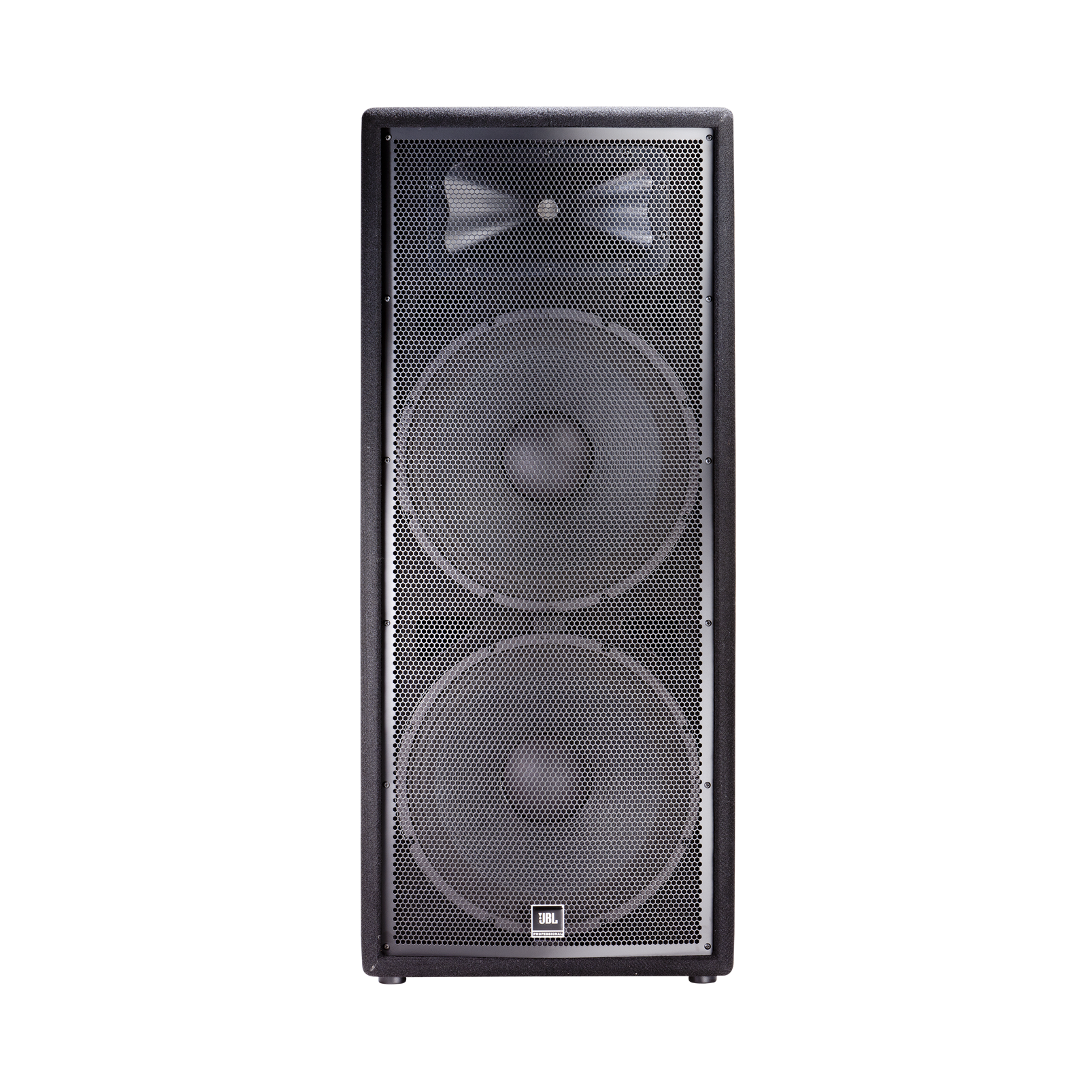 "JBL JRX225 - Black - Dual 15"" Two-Way Sound Reinforcement Loudspeaker System - Front"