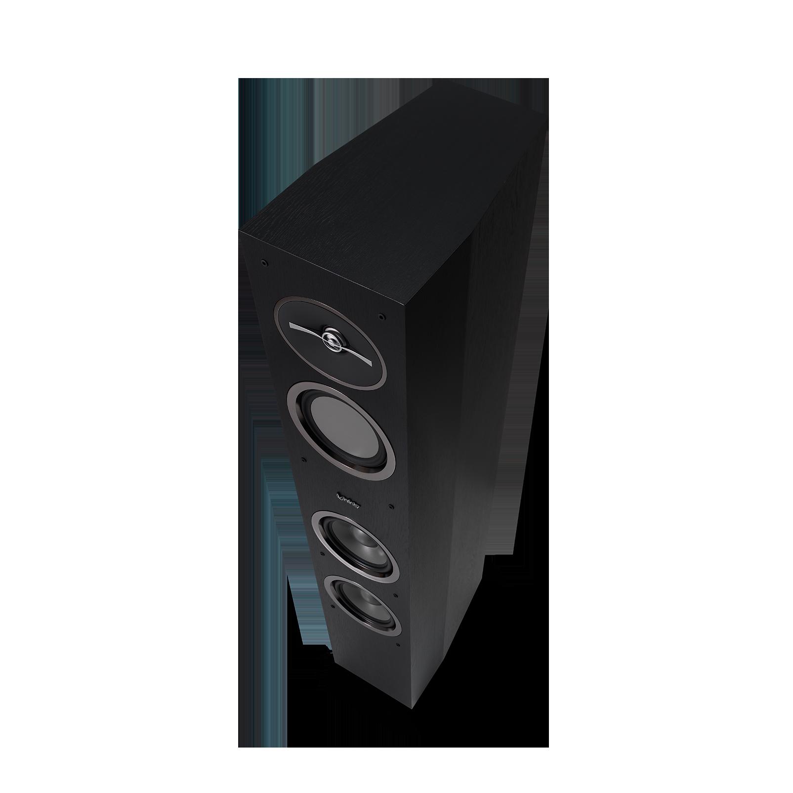 "Reference 253 - Black - 5-1/4"" 3-Way Floorstanding Loudspeaker - Detailshot 4"