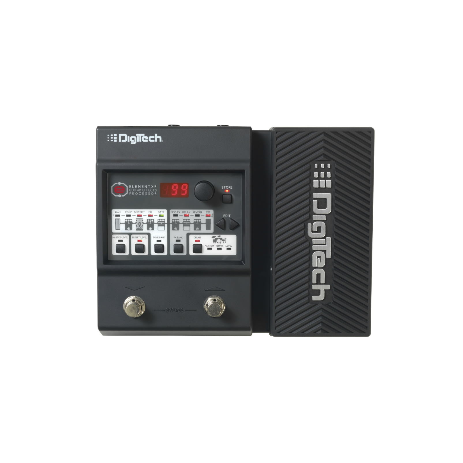 DigiTech Element XP - Black - Guitar Multi-Effects Processor with Expression Pedal - Front