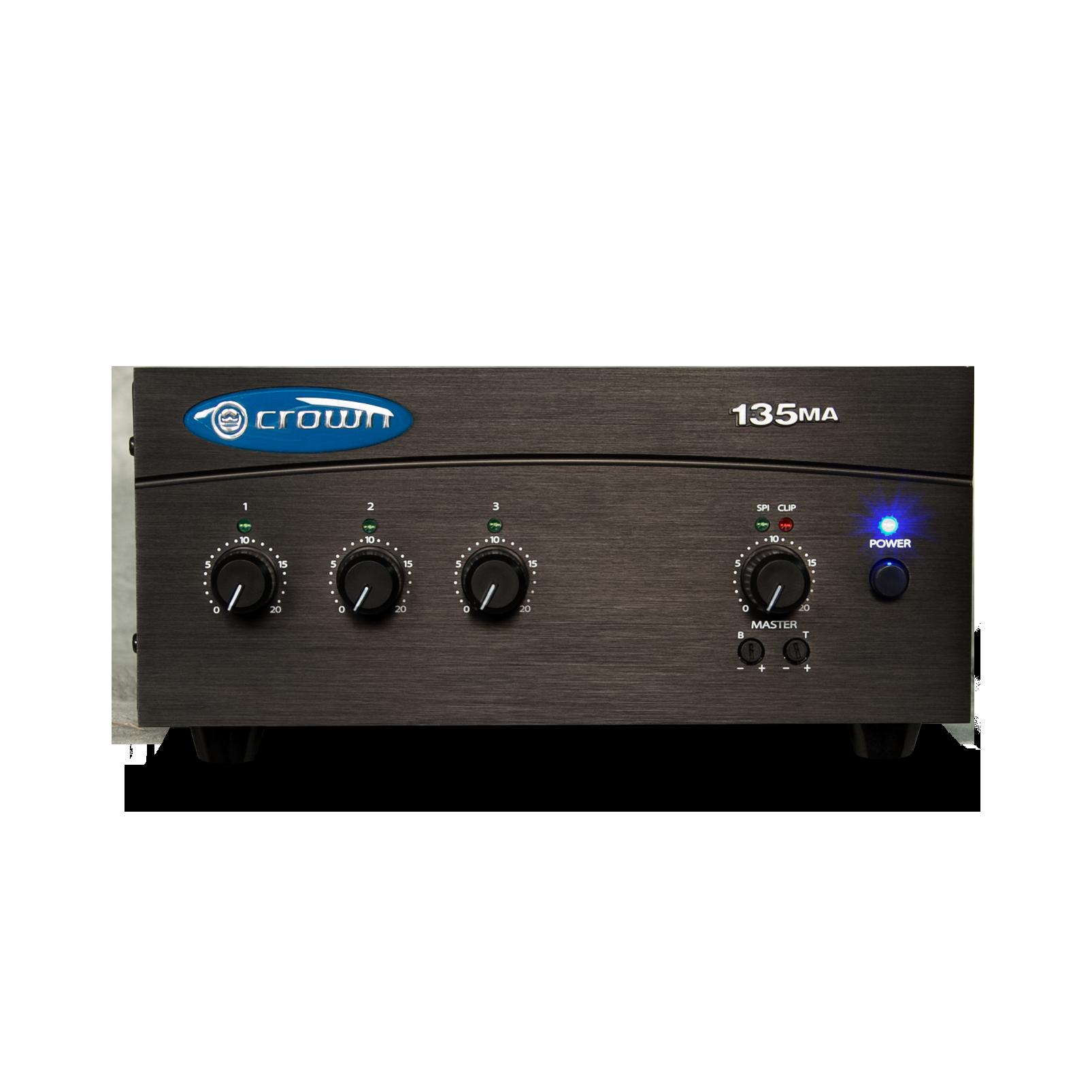 135MA (B-Stock) - Black - Three Input, 35W Mixer-Amplifier - Hero