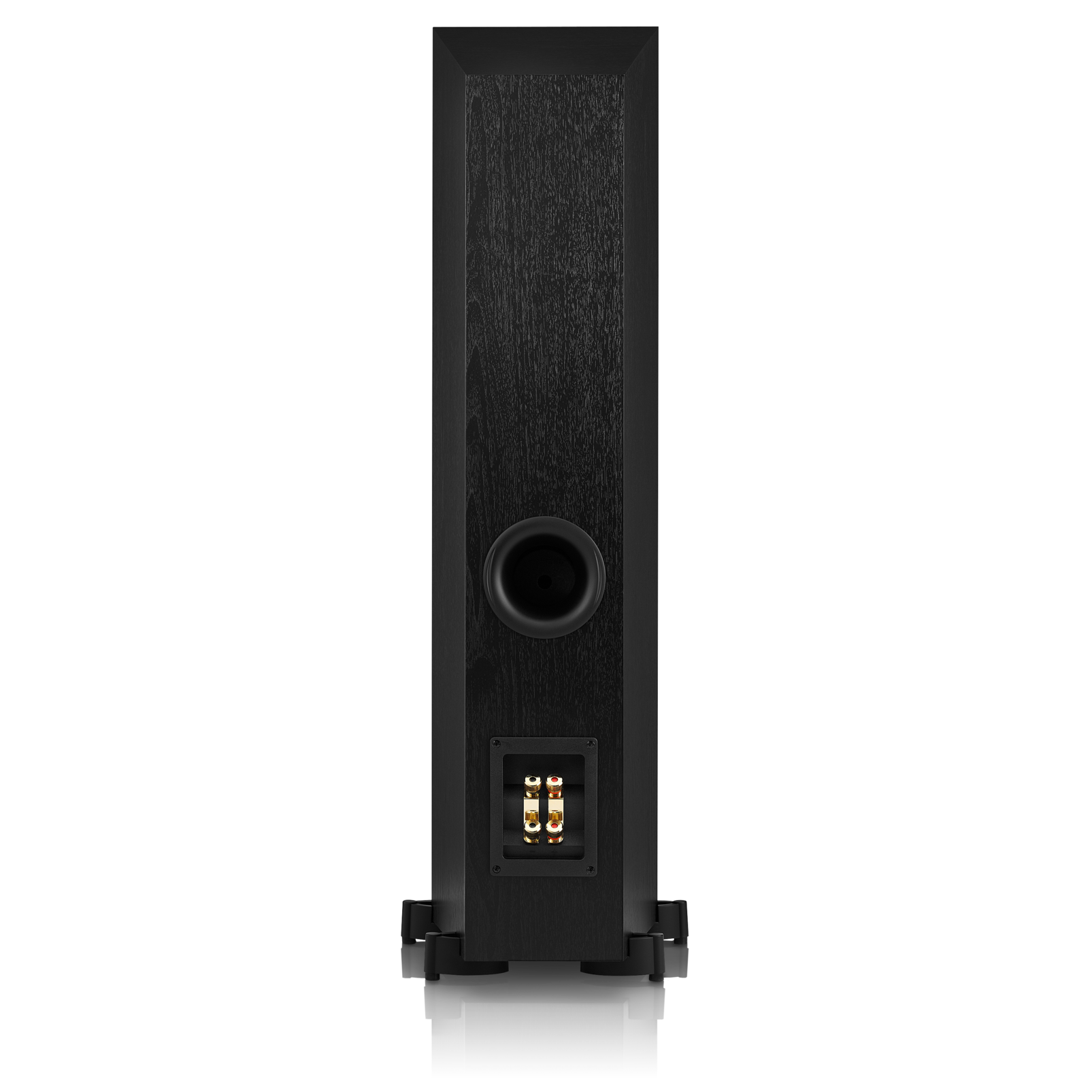 Studio 570 - Black - Professional-quality150-watt Floorstanding Speaker - Back