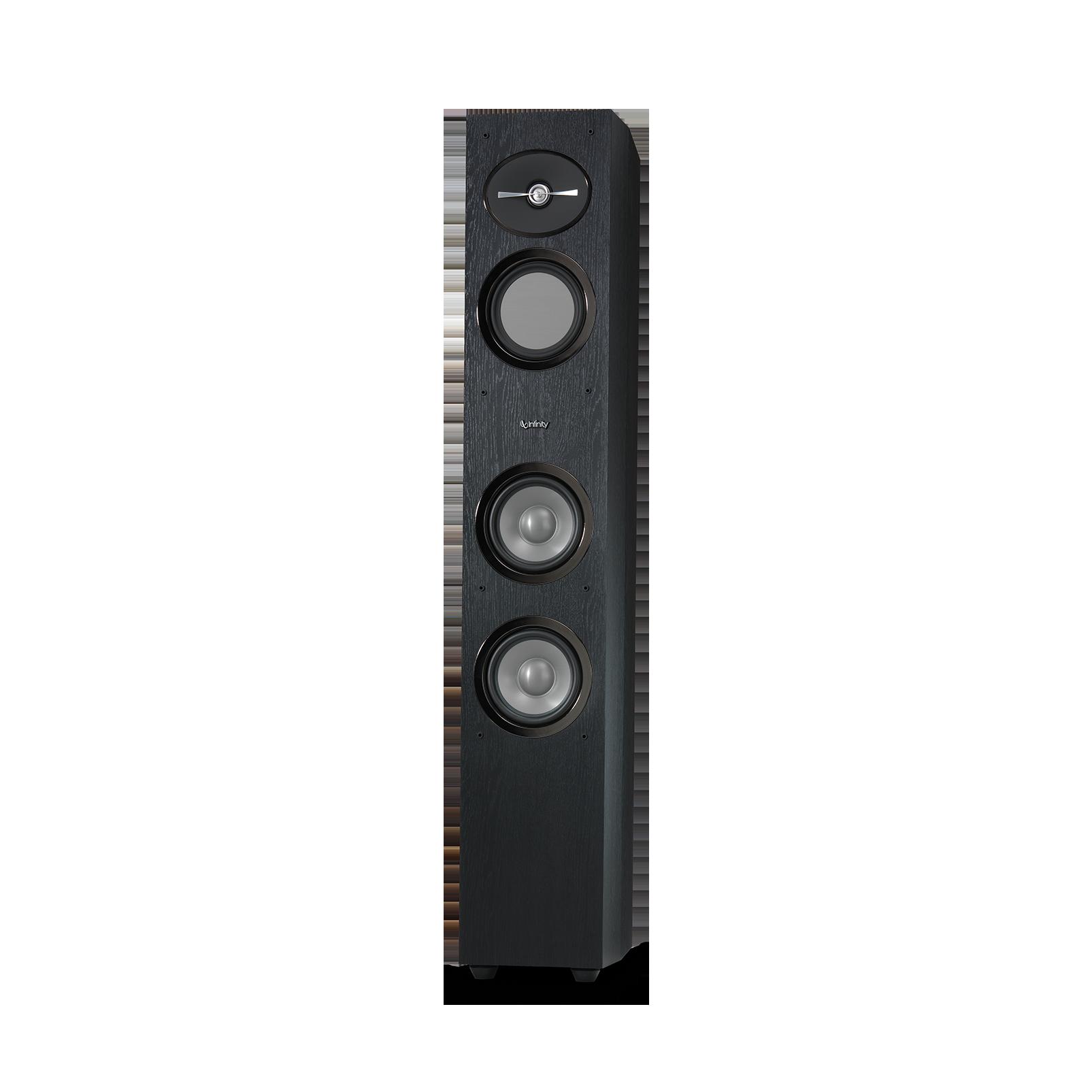 "Reference 253 - Black - 5-1/4"" 3-Way Floorstanding Loudspeaker - Front"