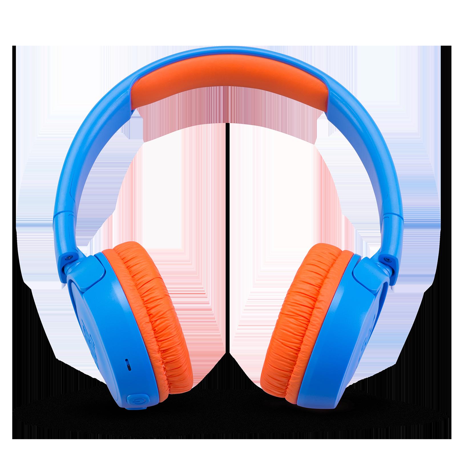 JBL JR300BT - Rocker Blue - Kids Wireless on-ear headphones - Front