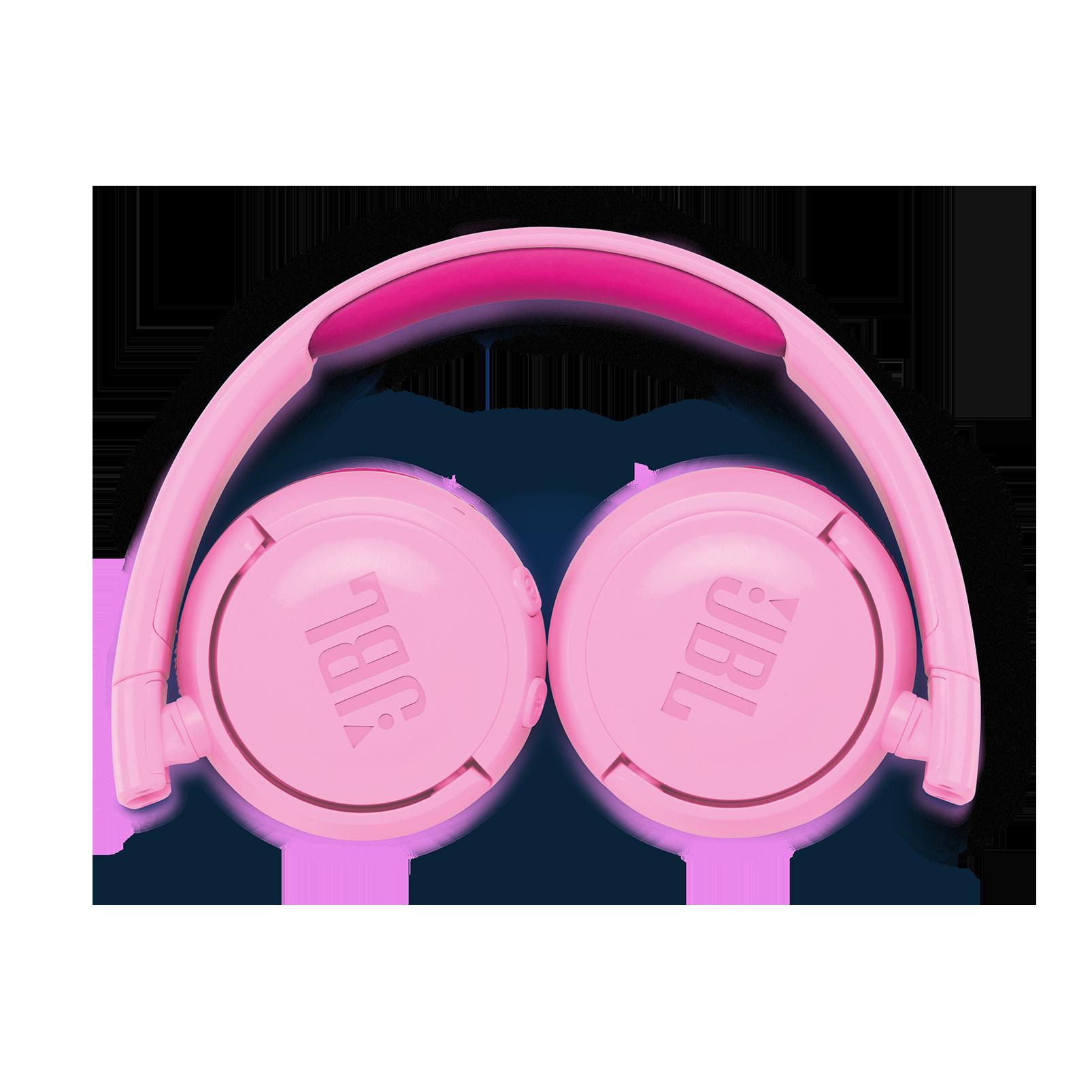 JBL JR300BT - Pink - Kids Wireless on-ear headphones - Detailshot 3