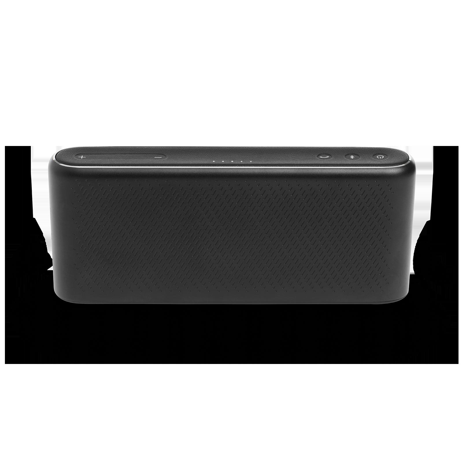 Traveler - Black - All-in-one travel speaker - Back