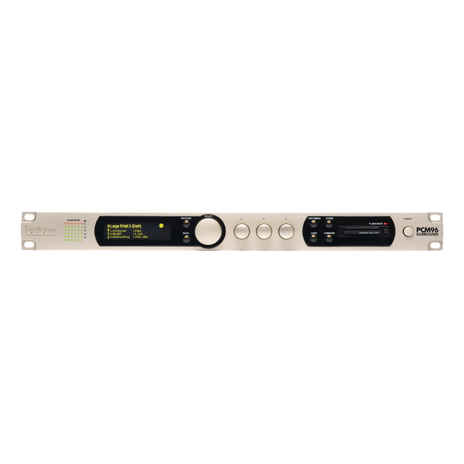 PCM96 Surround (digital) - Nickel - Parallel Stereo and Surround Reverb/Effects Processor w/ Digital I/O - Detailshot 1