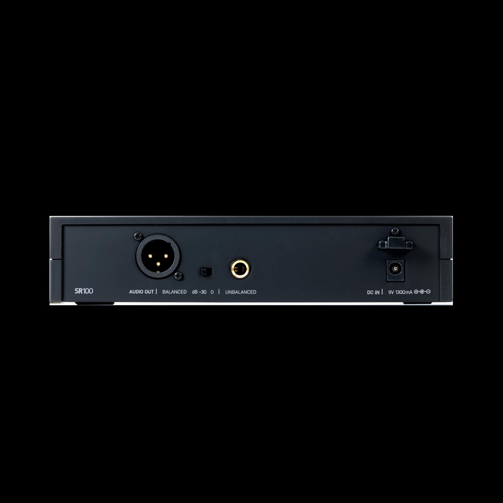 DMS100 Microphone Set - Black - Digital wireless microphone system - Back