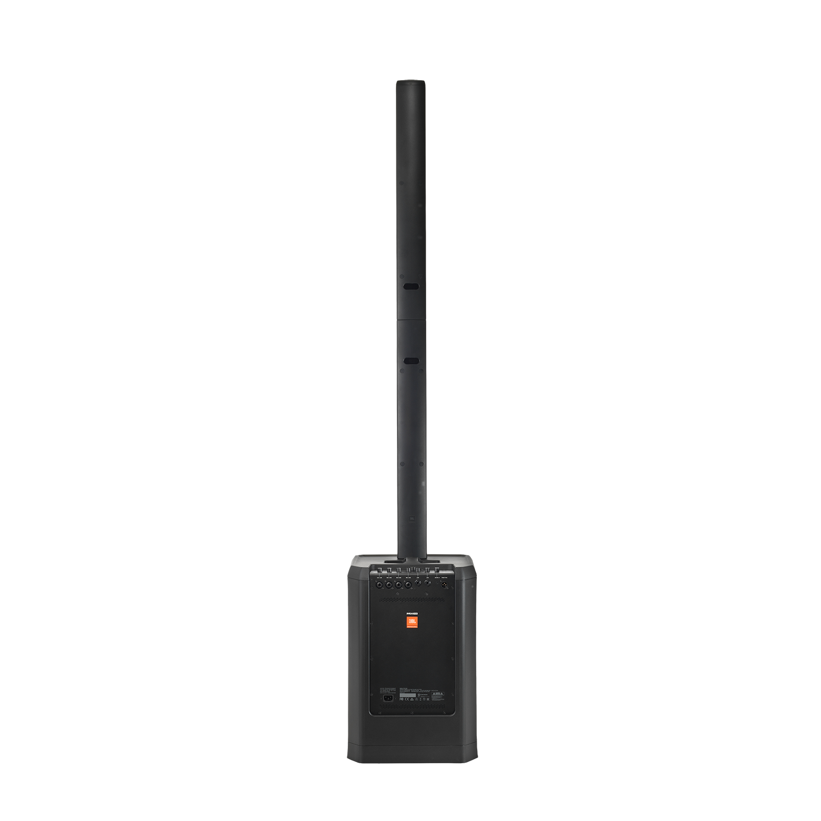 JBL PRX ONE - Black - All-In-One Powered Column PA with Mixer and DSP - Back