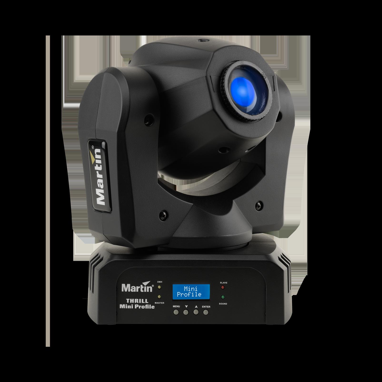 THRILL Mini Profile - Black - Compact LED Moving Head - Hero