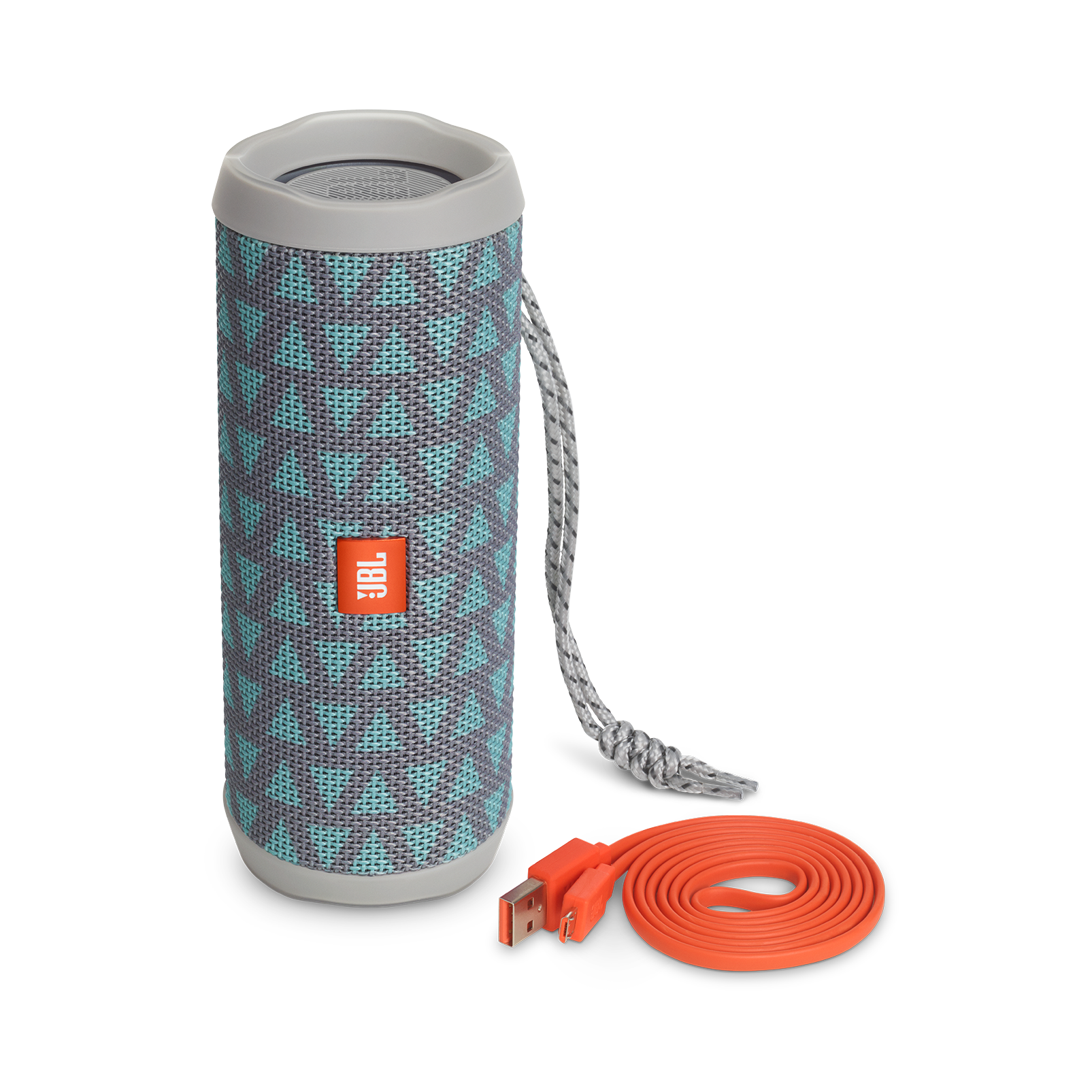 JBL Flip 4 Special Edition - Trio - A full-featured waterproof portable Bluetooth speaker with surprisingly powerful sound. - Detailshot 4