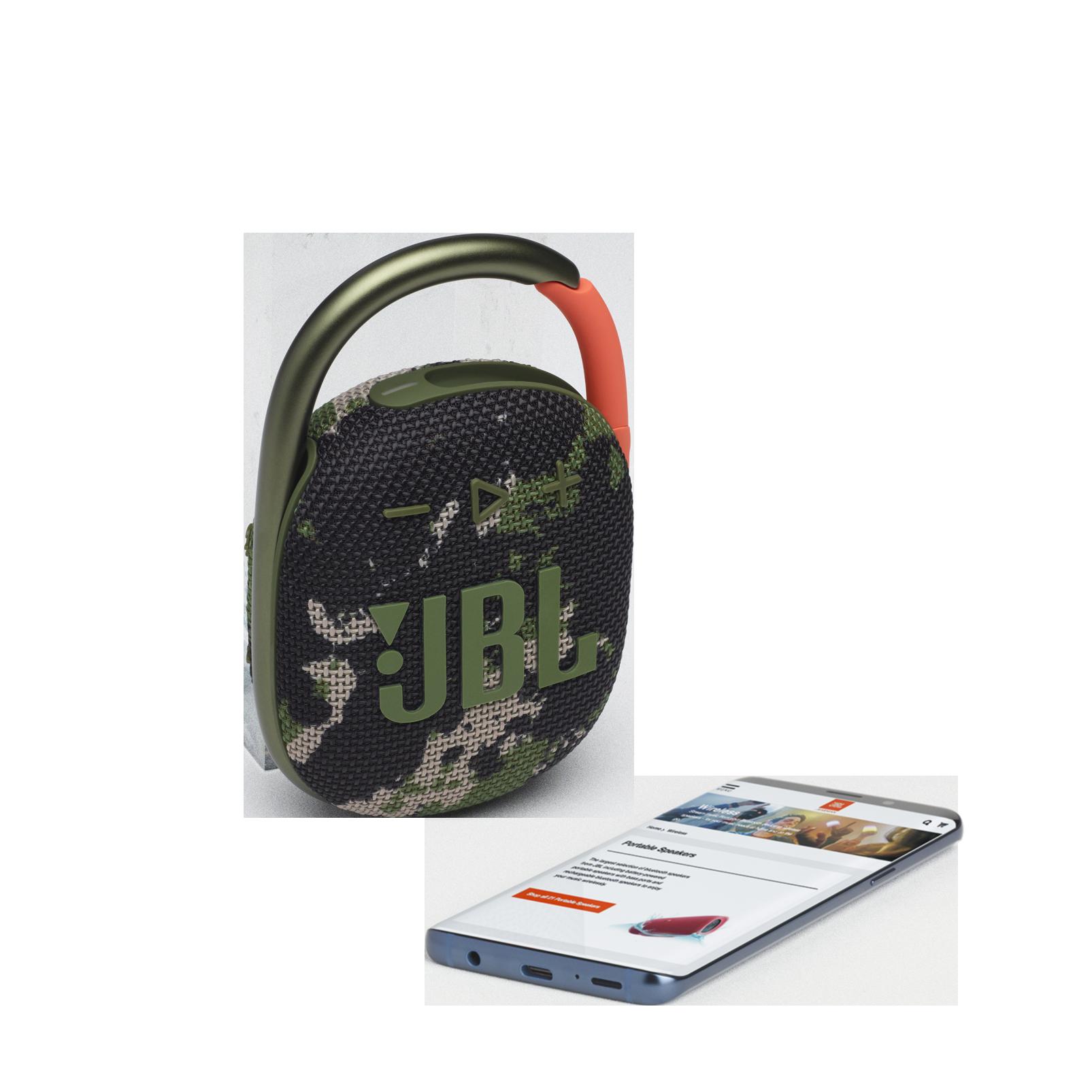 JBL CLIP 4 - Squad - Ultra-portable Waterproof Speaker - Detailshot 1