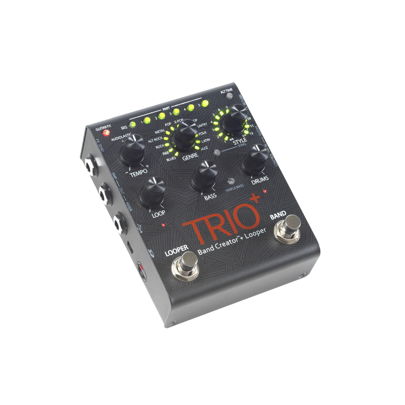 TRIO+ - Black - Band Creator + Looper - Detailshot 3