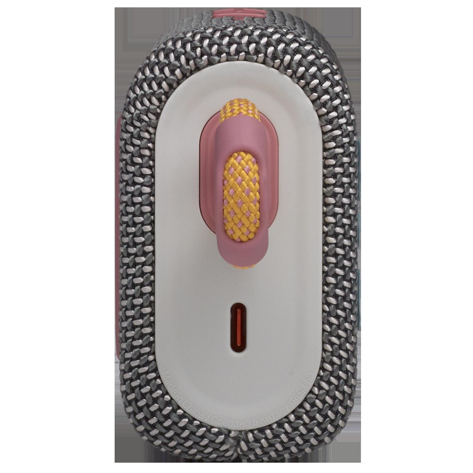 JBL Go 3 - Grey - Portable Waterproof Speaker - Left