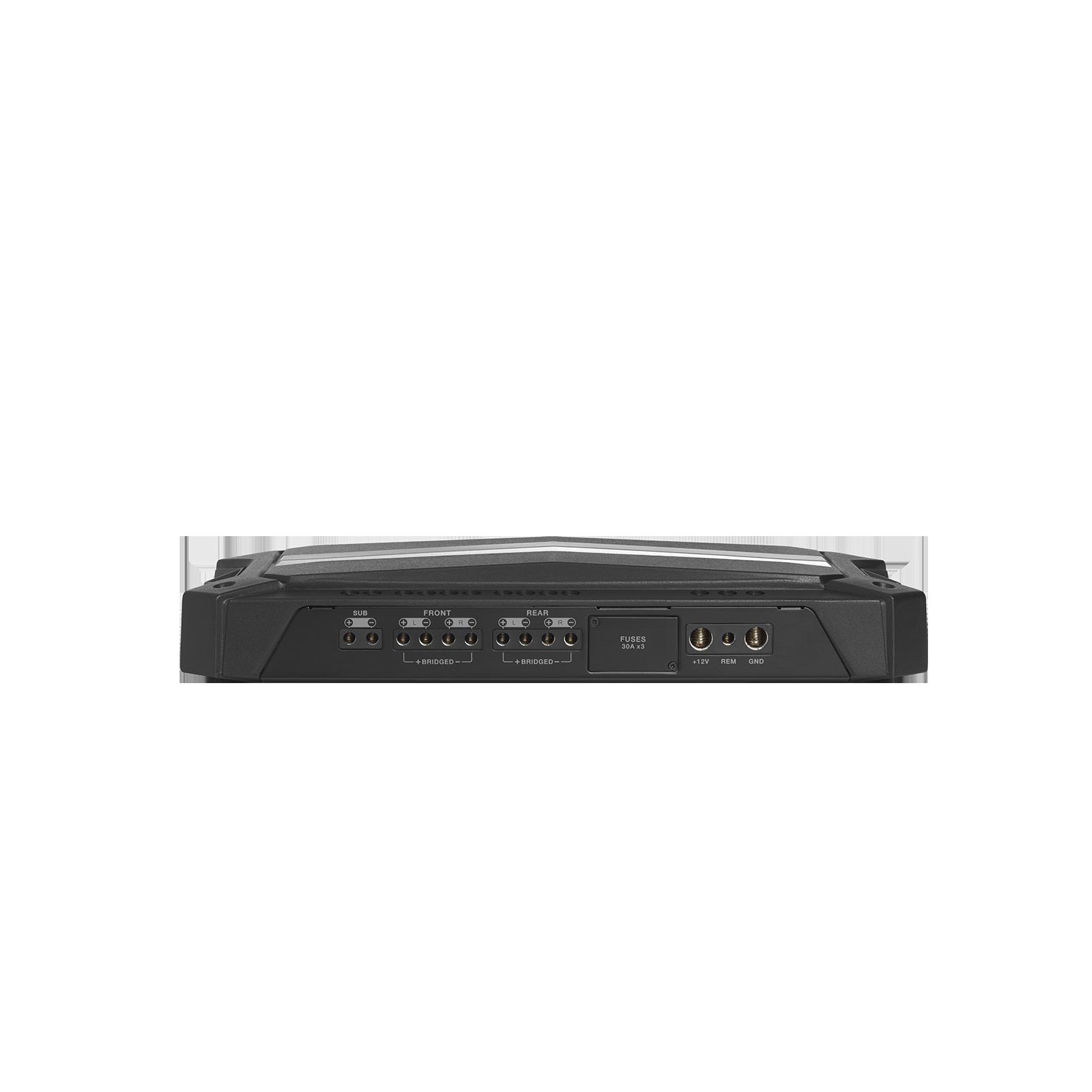 Stadium 5 - Black - High-performance multi-channel Class D amplifier - Detailshot 1