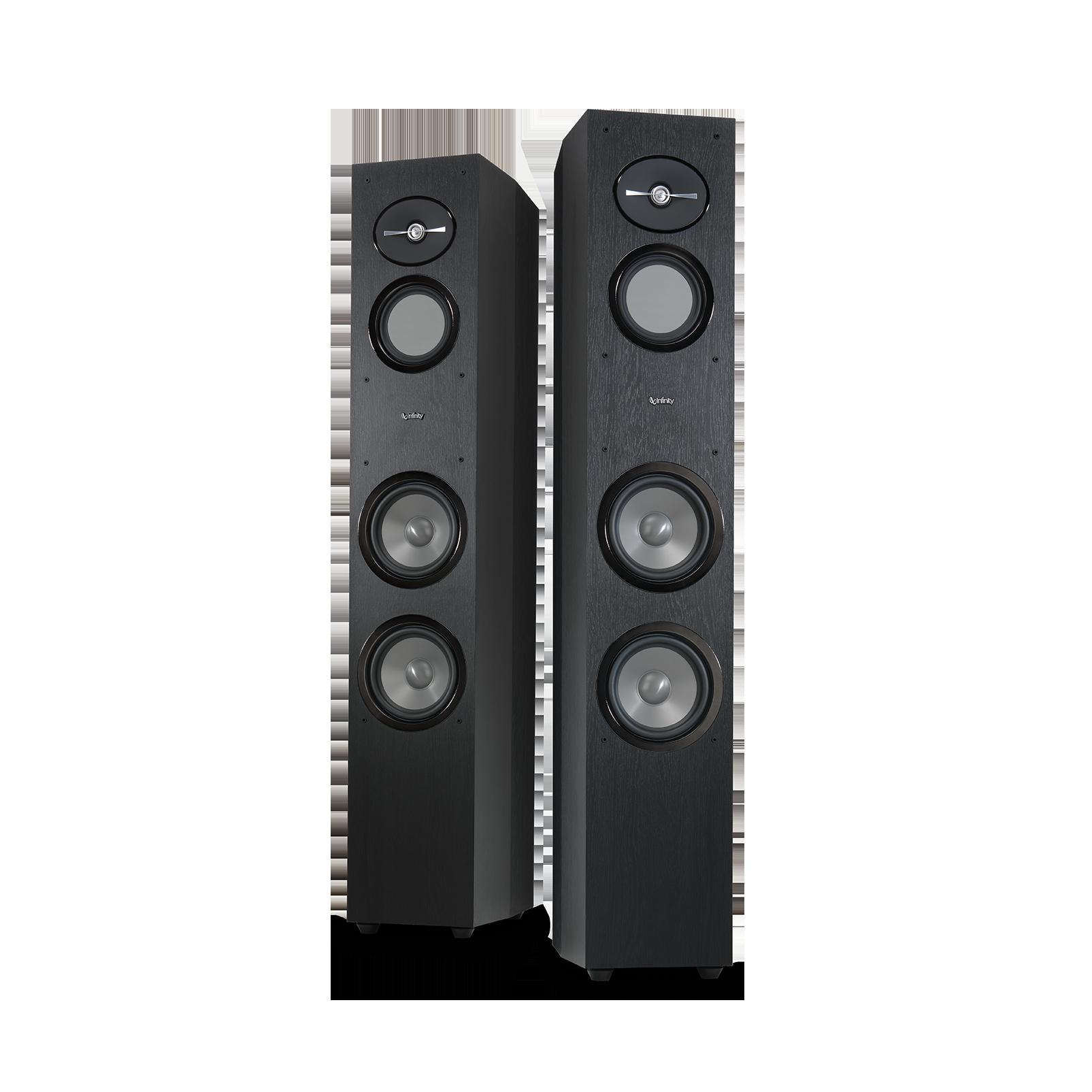 "Reference 263 - Black - 6-1/2"" 3-Way Floorstanding Loudspeaker - Detailshot 4"