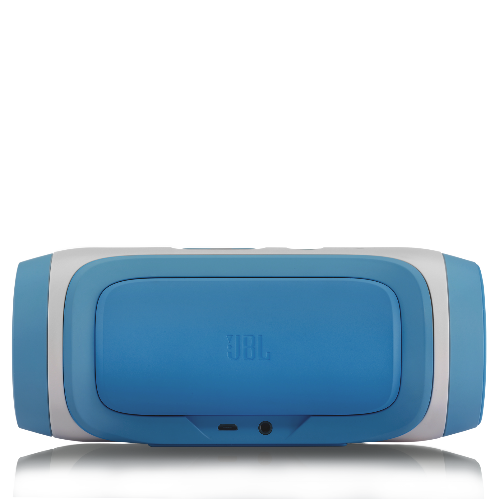JBL Charge - Blue-Z - Portable Wireless Bluetooth Speaker with USB Charger - Back