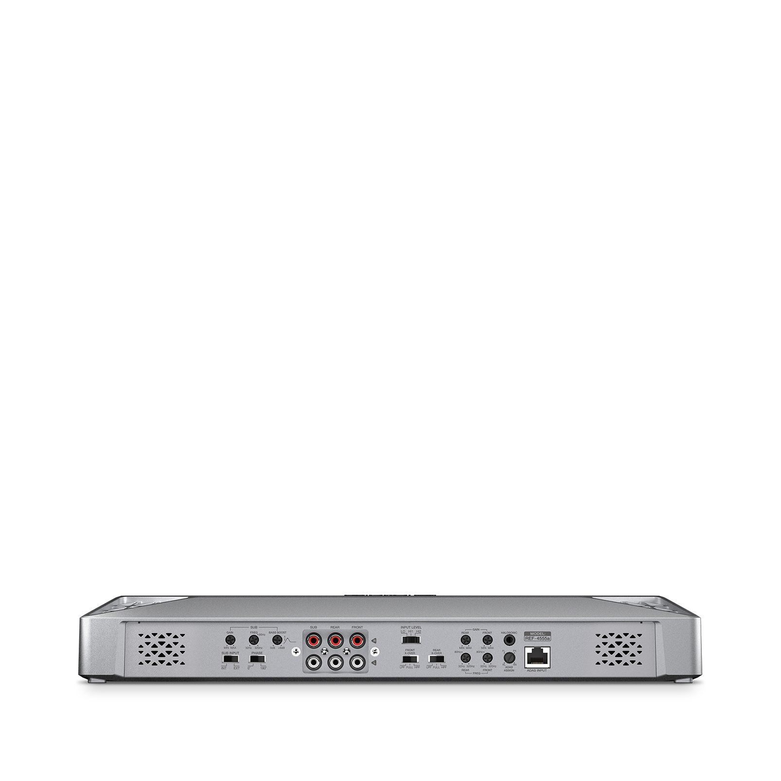 Reference 4555A - Silver - Series of high-performance mono, 4-, and 5-channel amplifiers - Detailshot 3