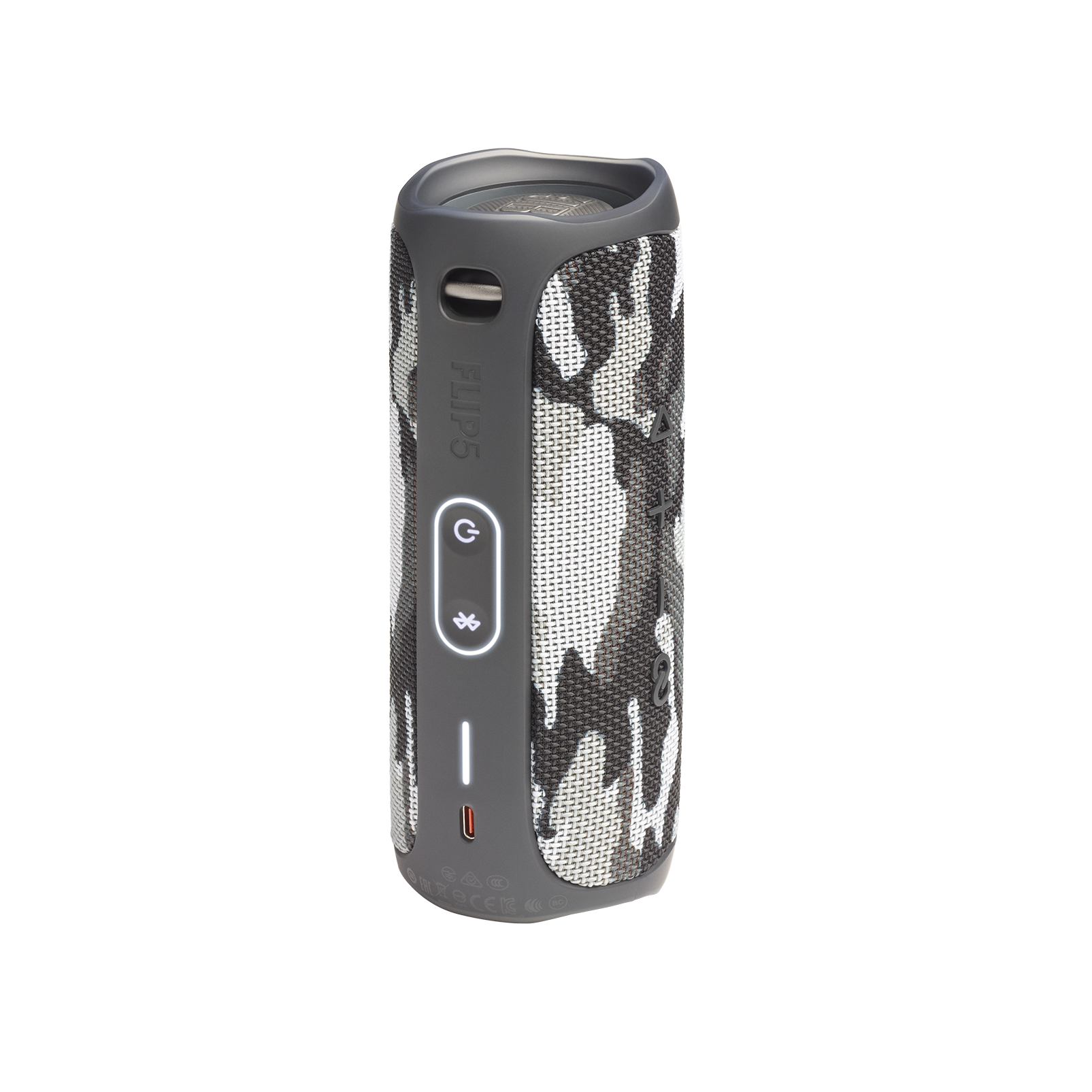 JBL FLIP 5 - Black Camo - Portable Waterproof Speaker - Back