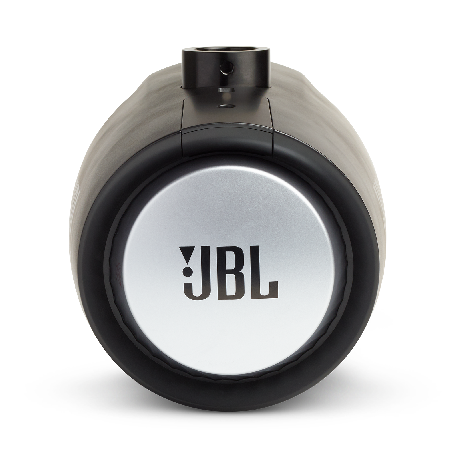 "JBL Tower X Marine MT6HLB - Black Gloss - 6-1/2"" (160mm) enclosed two-way marine audio tower speaker with 1"" (25mm) horn loaded compression tweeter – Black - Back"