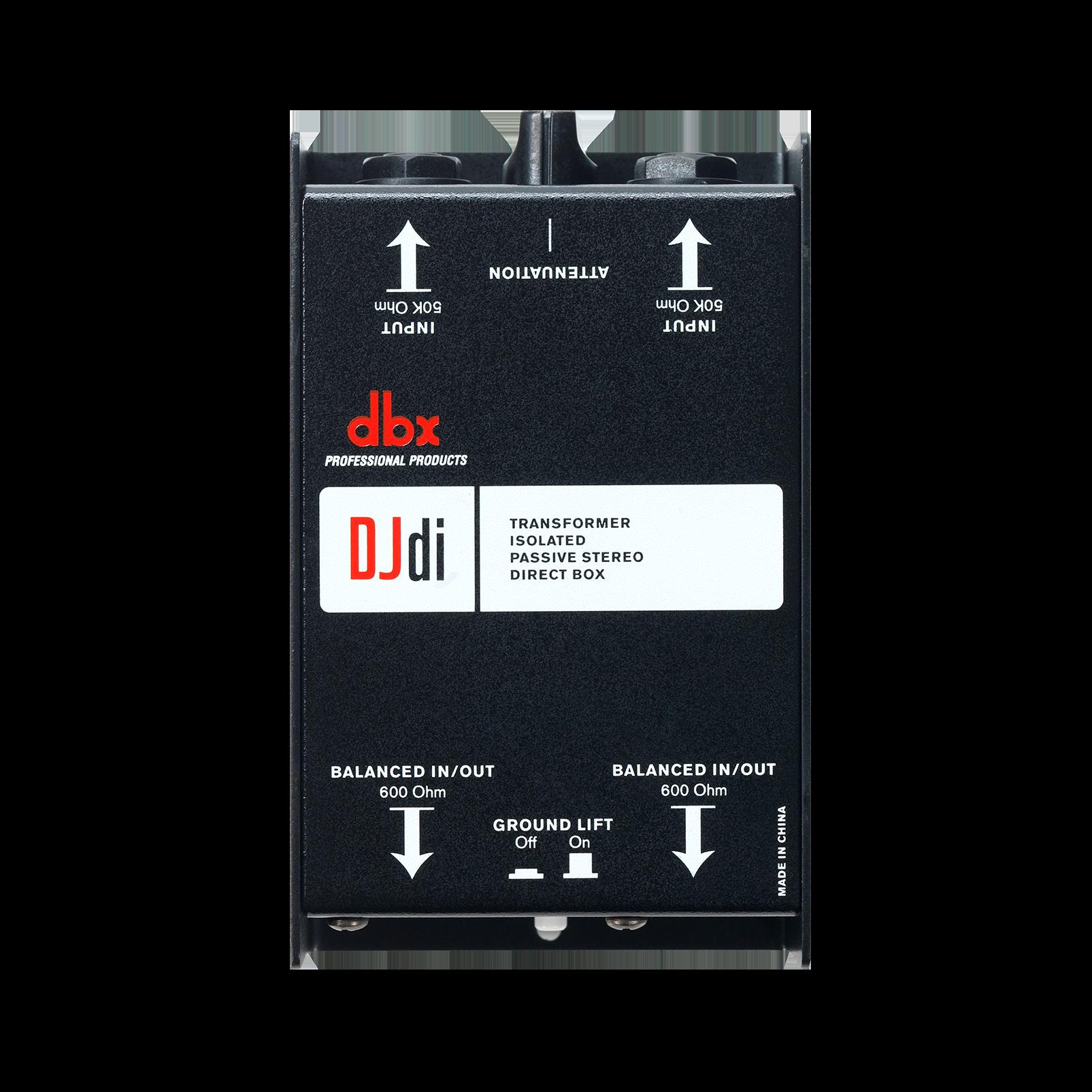 DJdi - Black - 2-channel Passive Direct Box - Detailshot 1