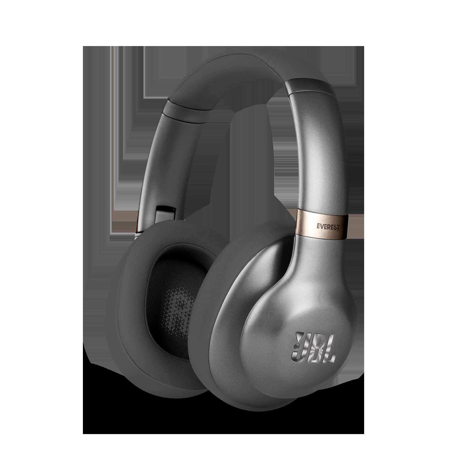 JBL EVEREST™ 710GA - Gun Metal - Wireless over-ear headphones - Hero