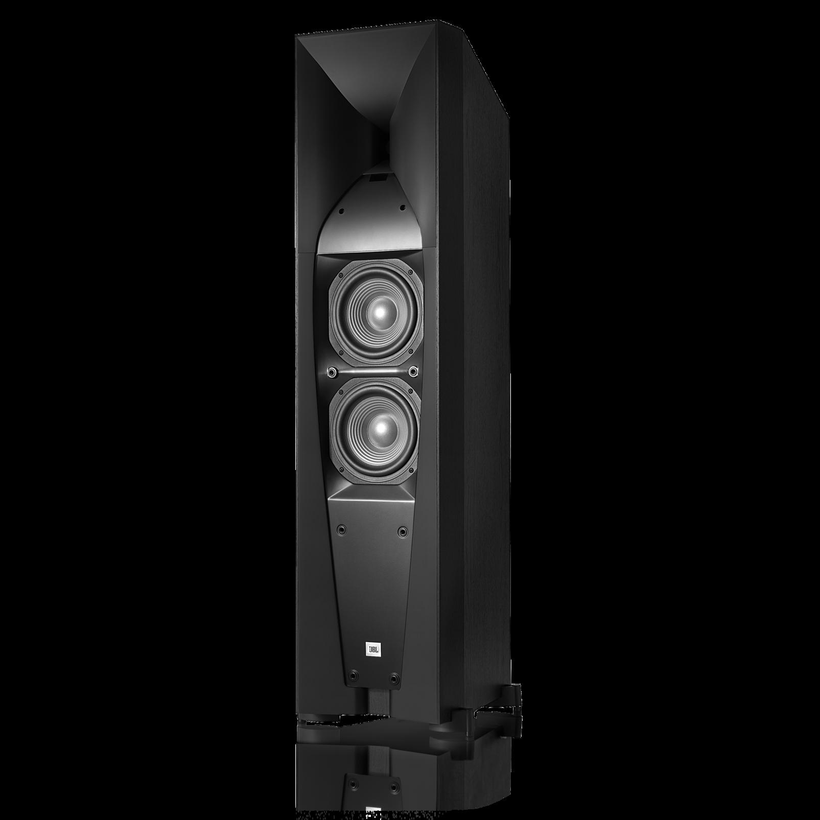 Studio 580 - Black - Professional-quality 200-watt Floorstanding Speaker - Detailshot 1