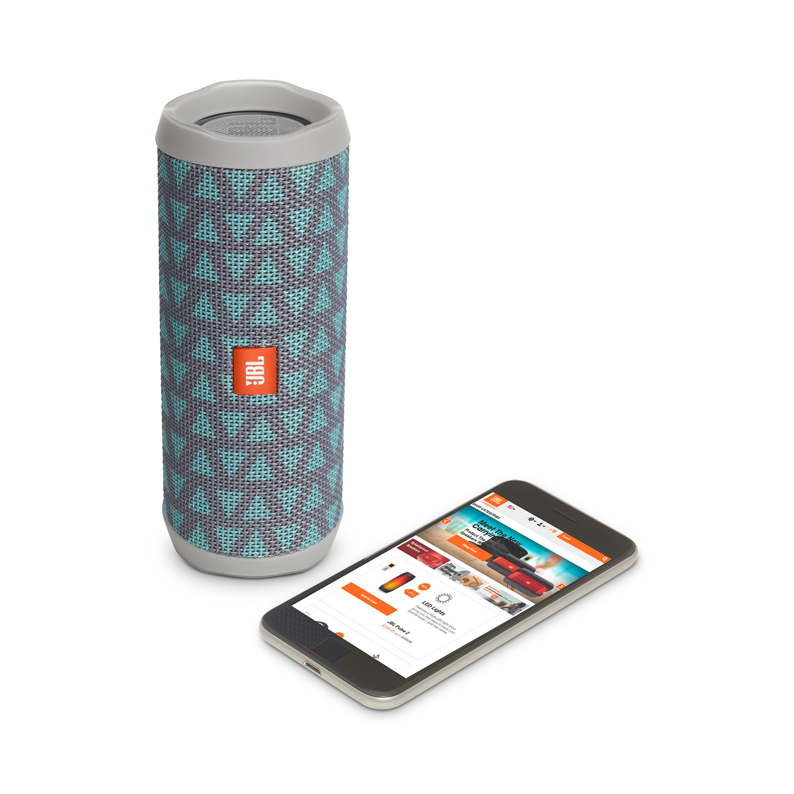 JBL Flip 4 Special Edition - Trio - A full-featured waterproof portable Bluetooth speaker with surprisingly powerful sound. - Detailshot 2