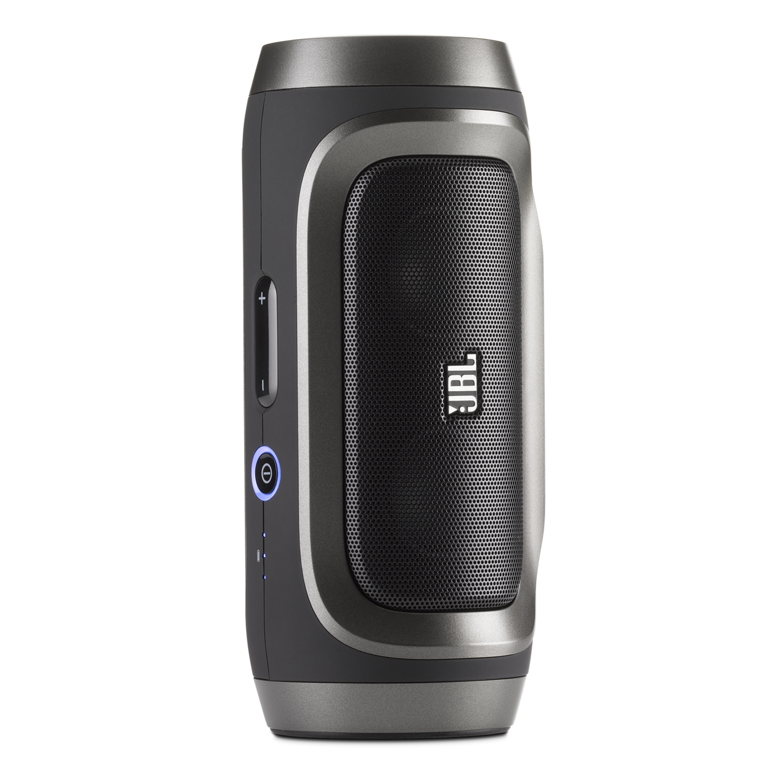 JBL Charge - Black / Silver - Portable Wireless Bluetooth Speaker with USB Charger - Detailshot 1