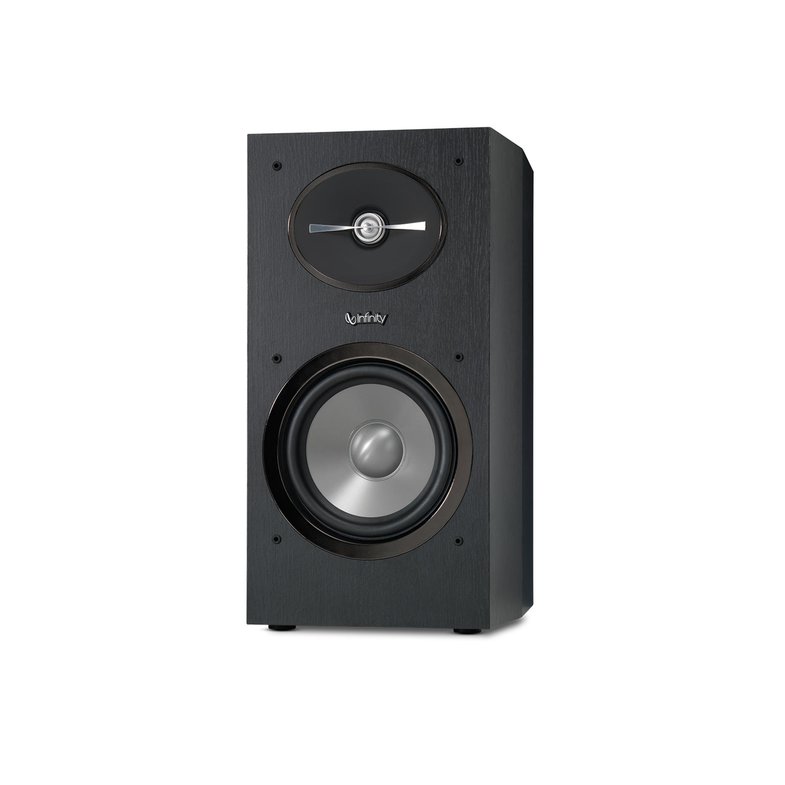 "Reference 162 - Black - 6-1/2"" 2-Way Bookshelf Speakers - Front"