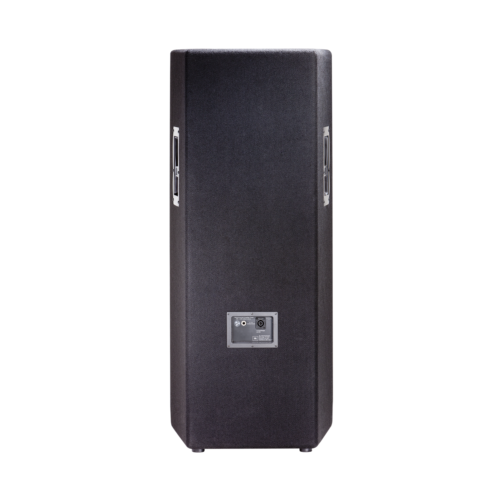 "JBL JRX225 - Black - Dual 15"" Two-Way Sound Reinforcement Loudspeaker System - Back"
