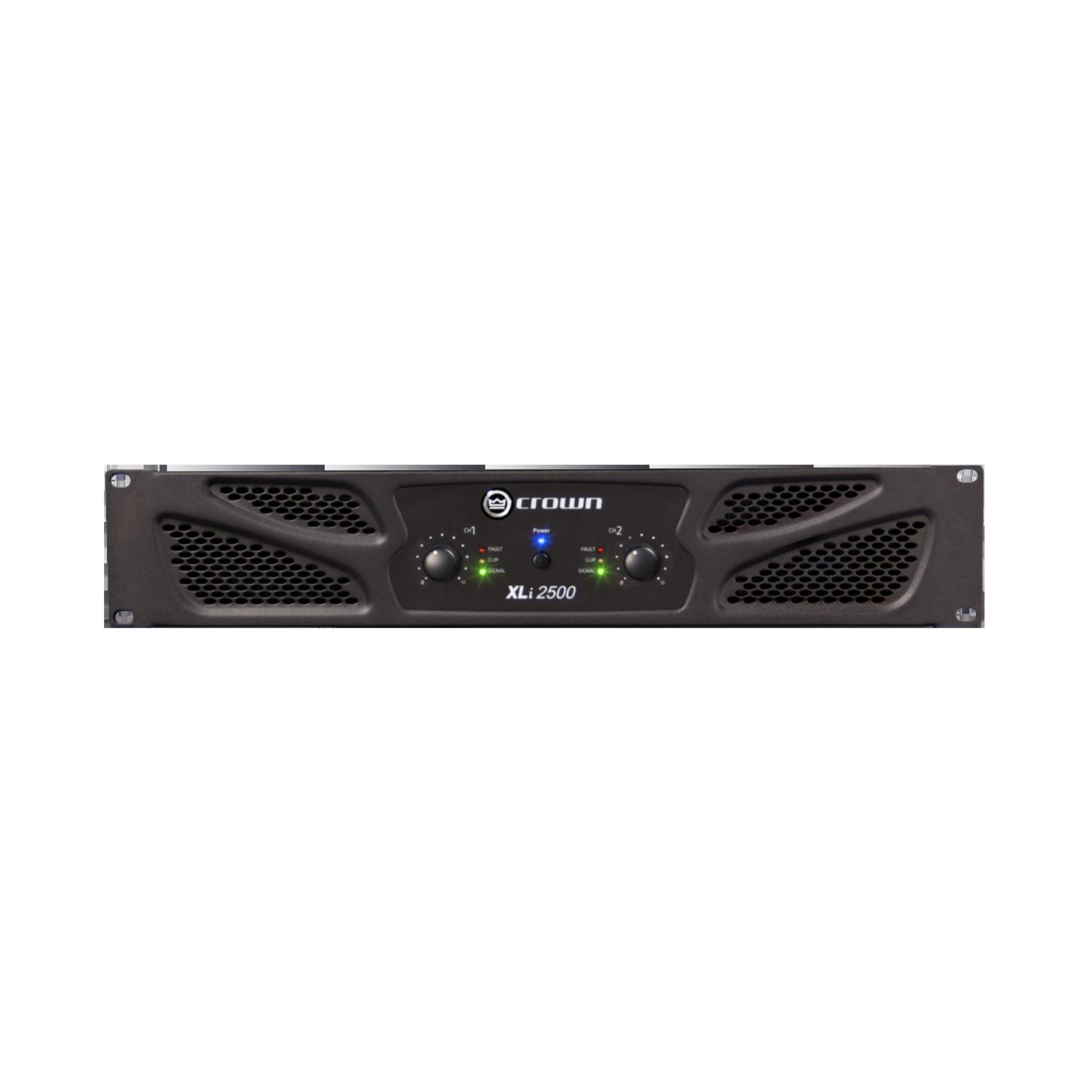 XLi 2500 - Grey - Two-channel, 750W @ 4Ω power amplifier - Hero