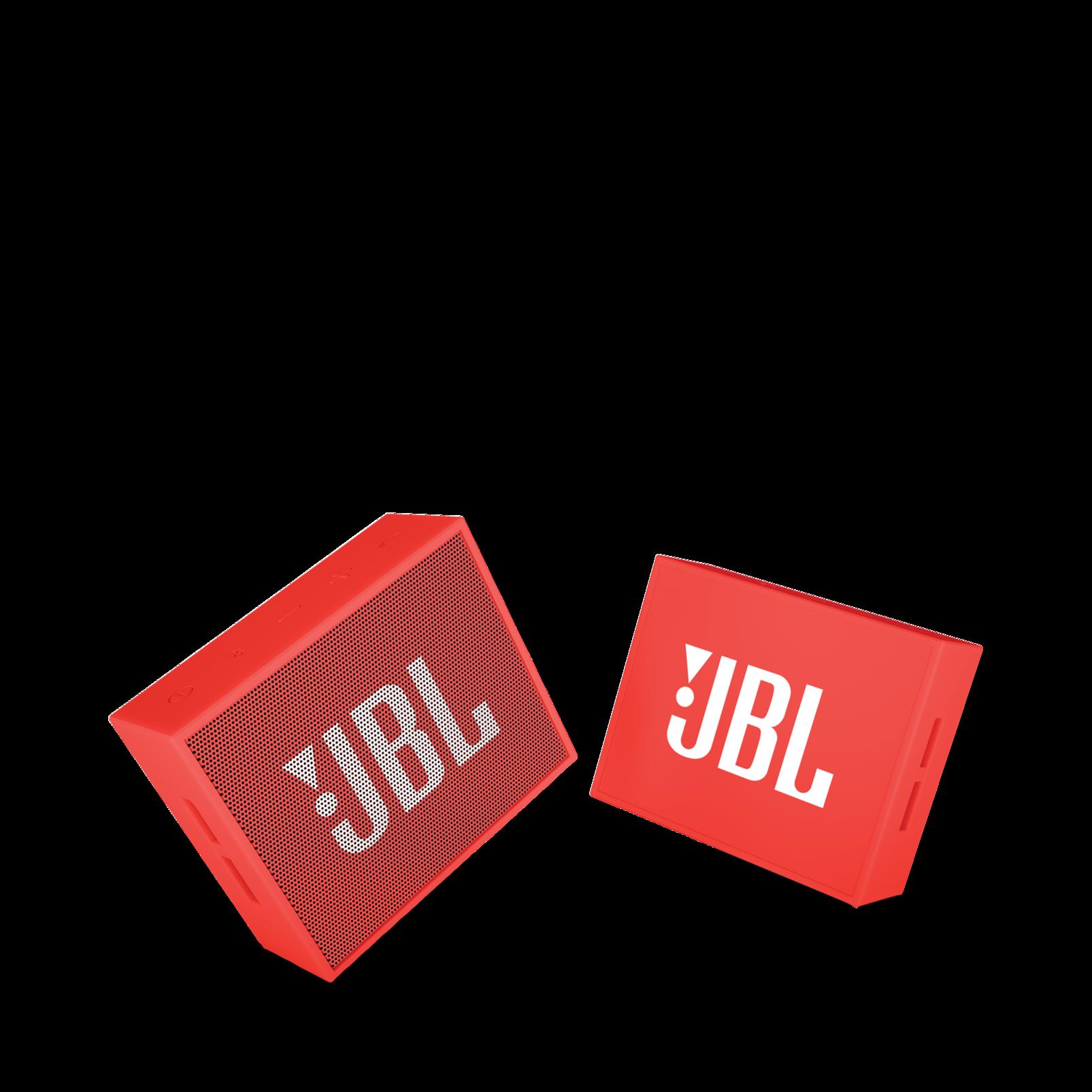 JBL GO - Red - Full-featured, great-sounding, great-value portable speaker - Detailshot 1