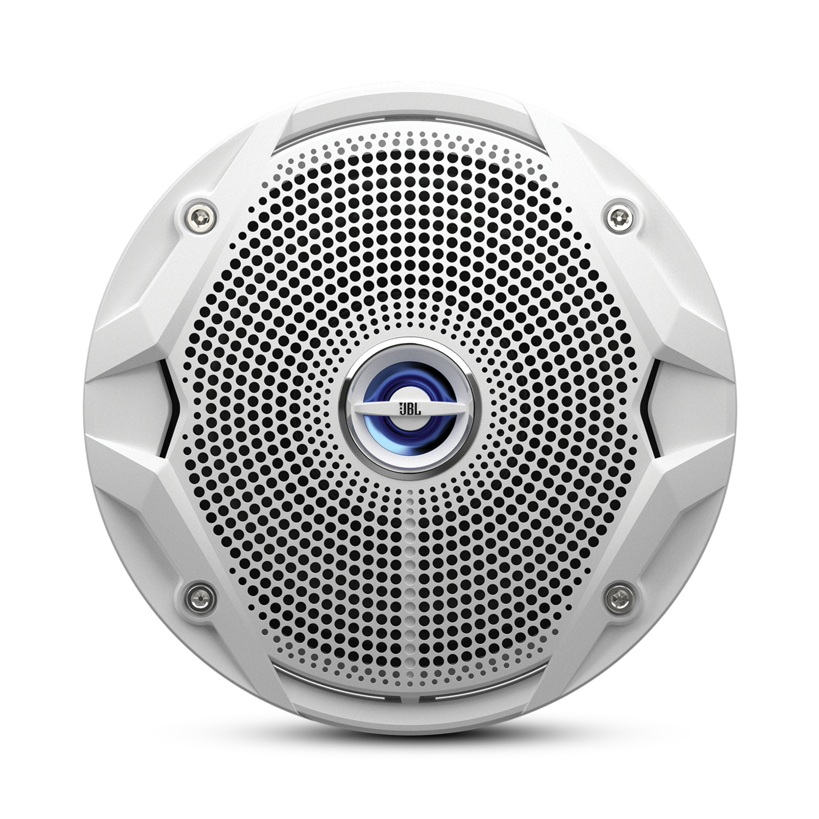 "MS 6520 - White - 6"" Coaxial, 180W Marine Speaker - Front"