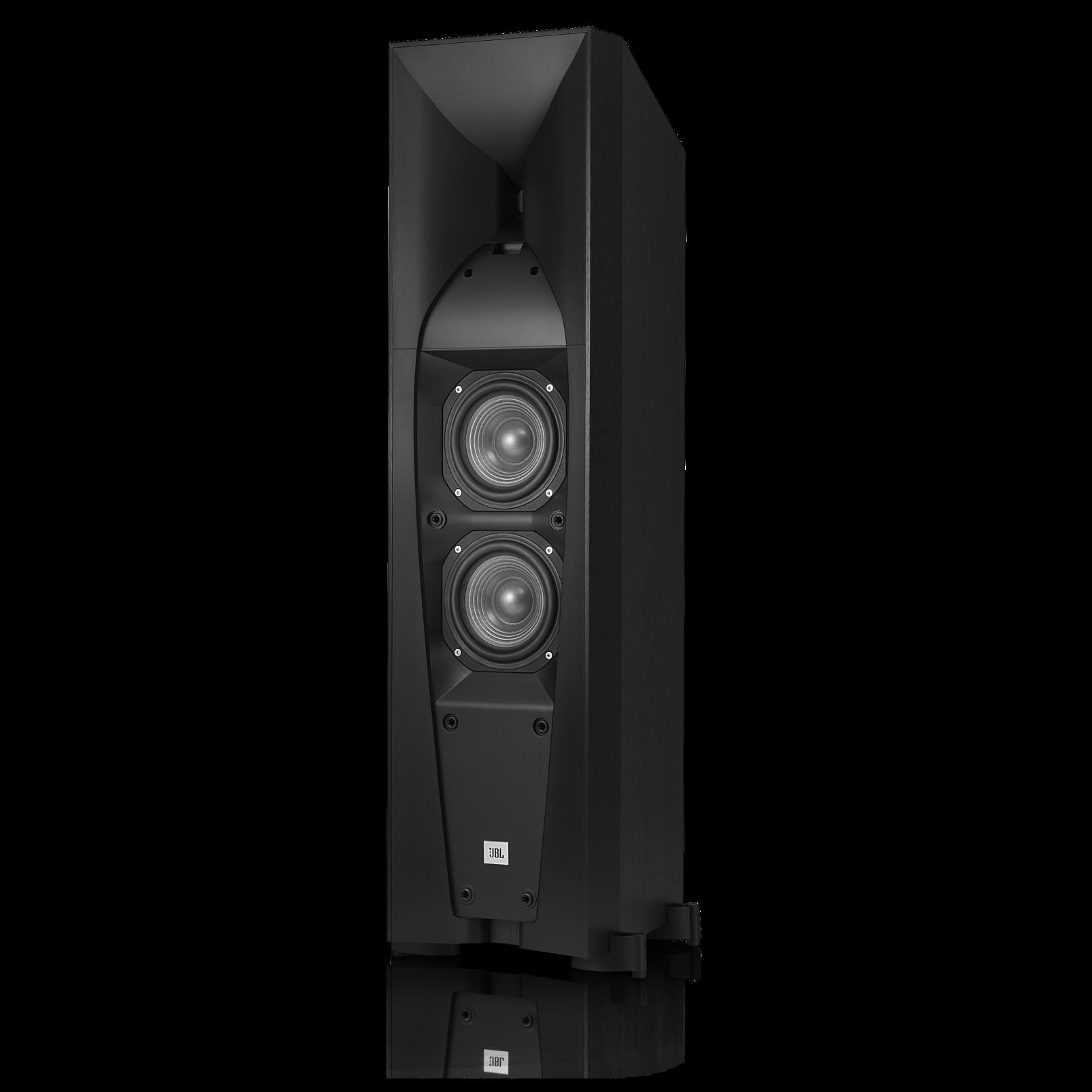 Studio 570 - Black - Professional-quality150-watt Floorstanding Speaker - Detailshot 1