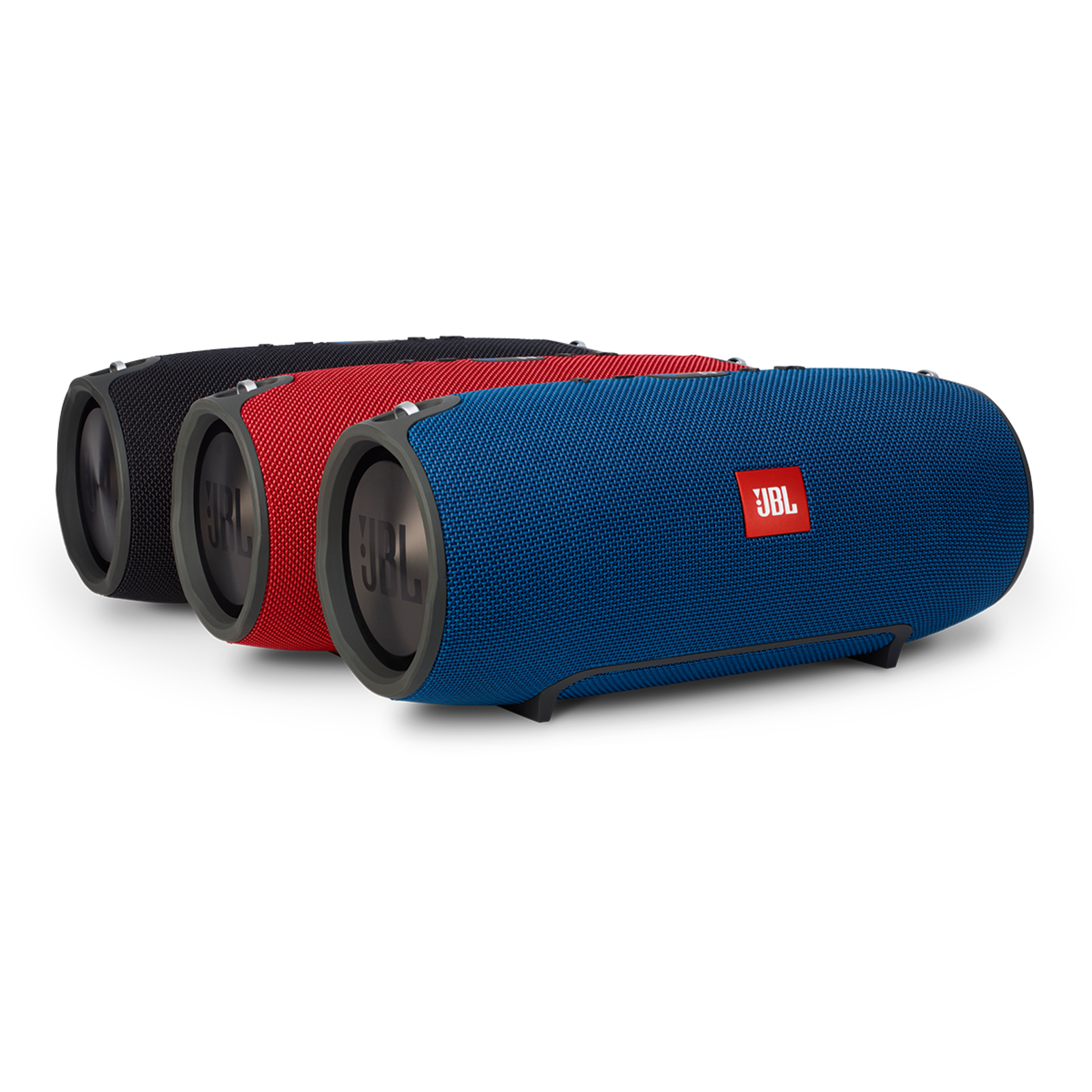 JBL Xtreme - Red - Splashproof portable speaker with ultra-powerful performance - Detailshot 2