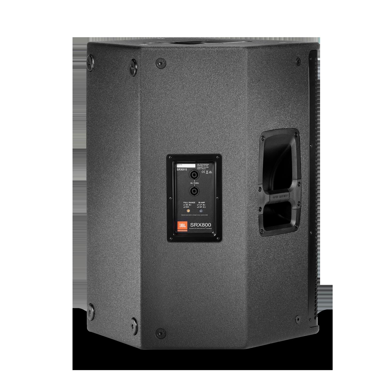 """JBL SRX815 - Black - 15"""" Two-Way Bass Reflex Passive System - Back"""