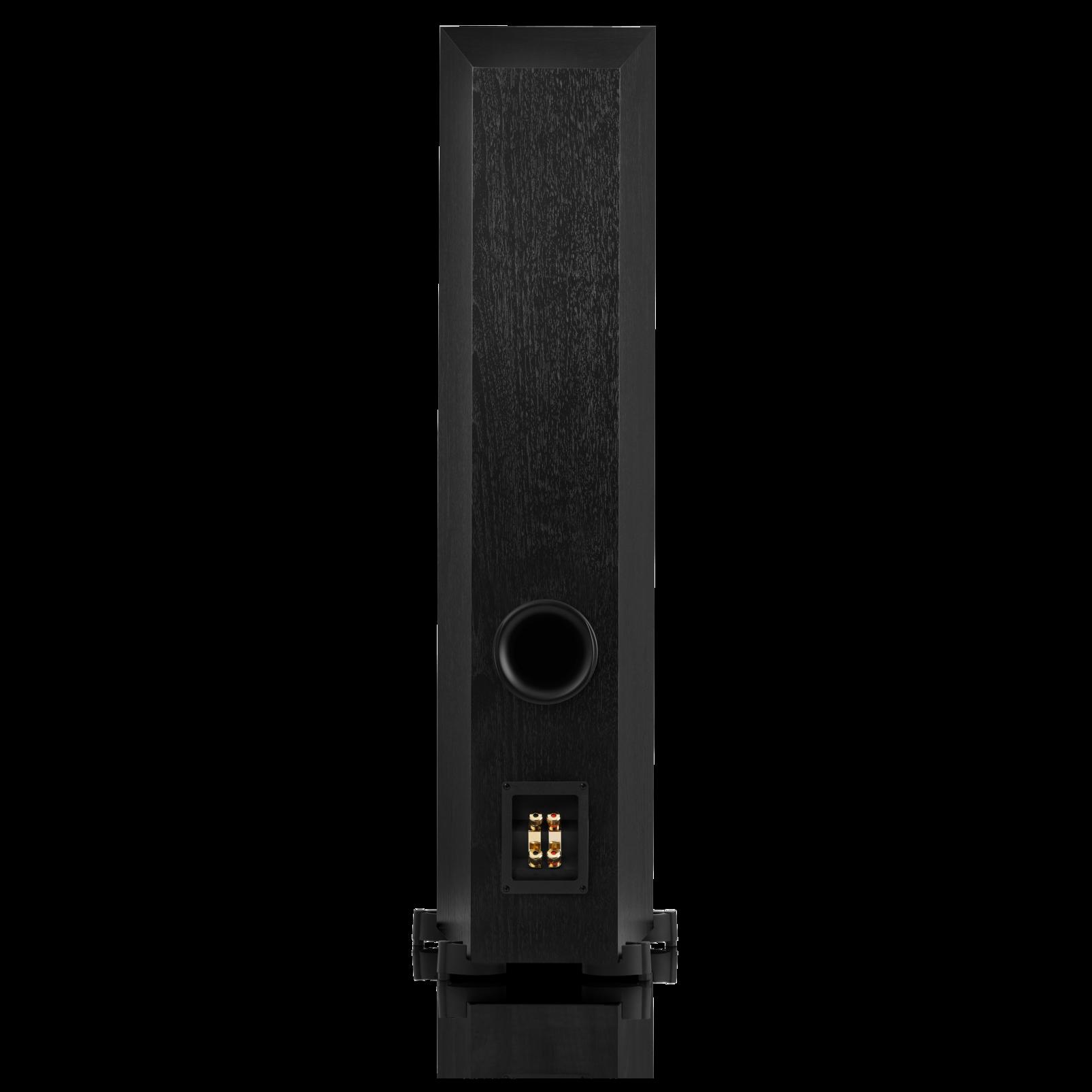 Studio 580 - Black - Professional-quality 200-watt Floorstanding Speaker - Back