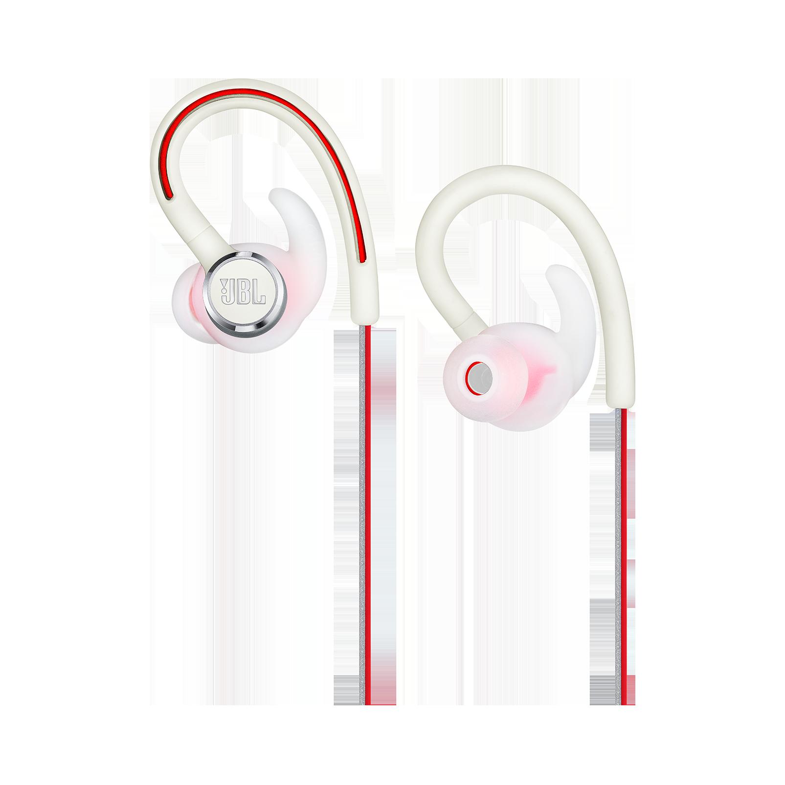 JBL Reflect Contour 2 - White - Secure fit Wireless Sport Headphones - Detailshot 2