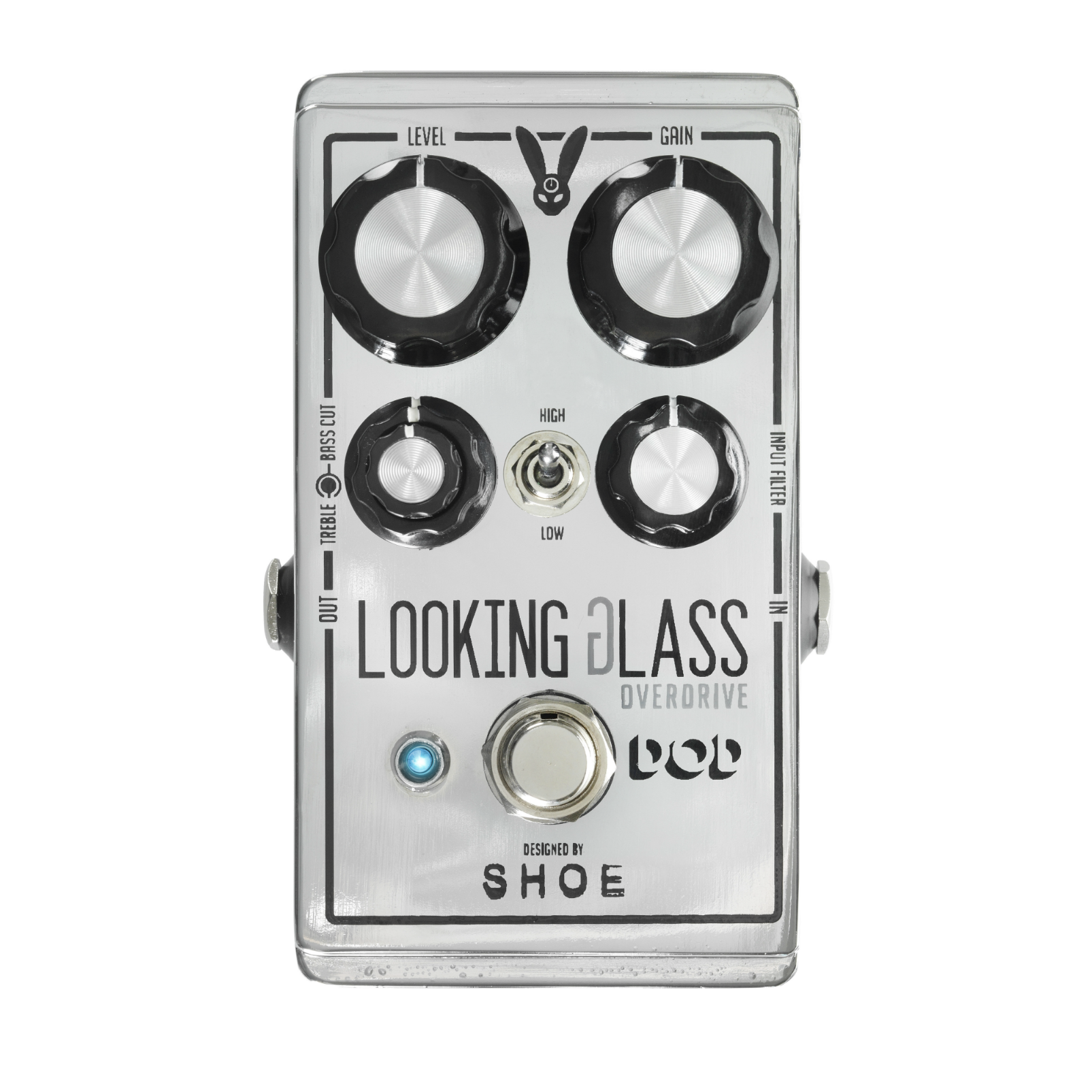 Looking Glass Overdrive - Silver - Class-A FET Overdrive - Hero