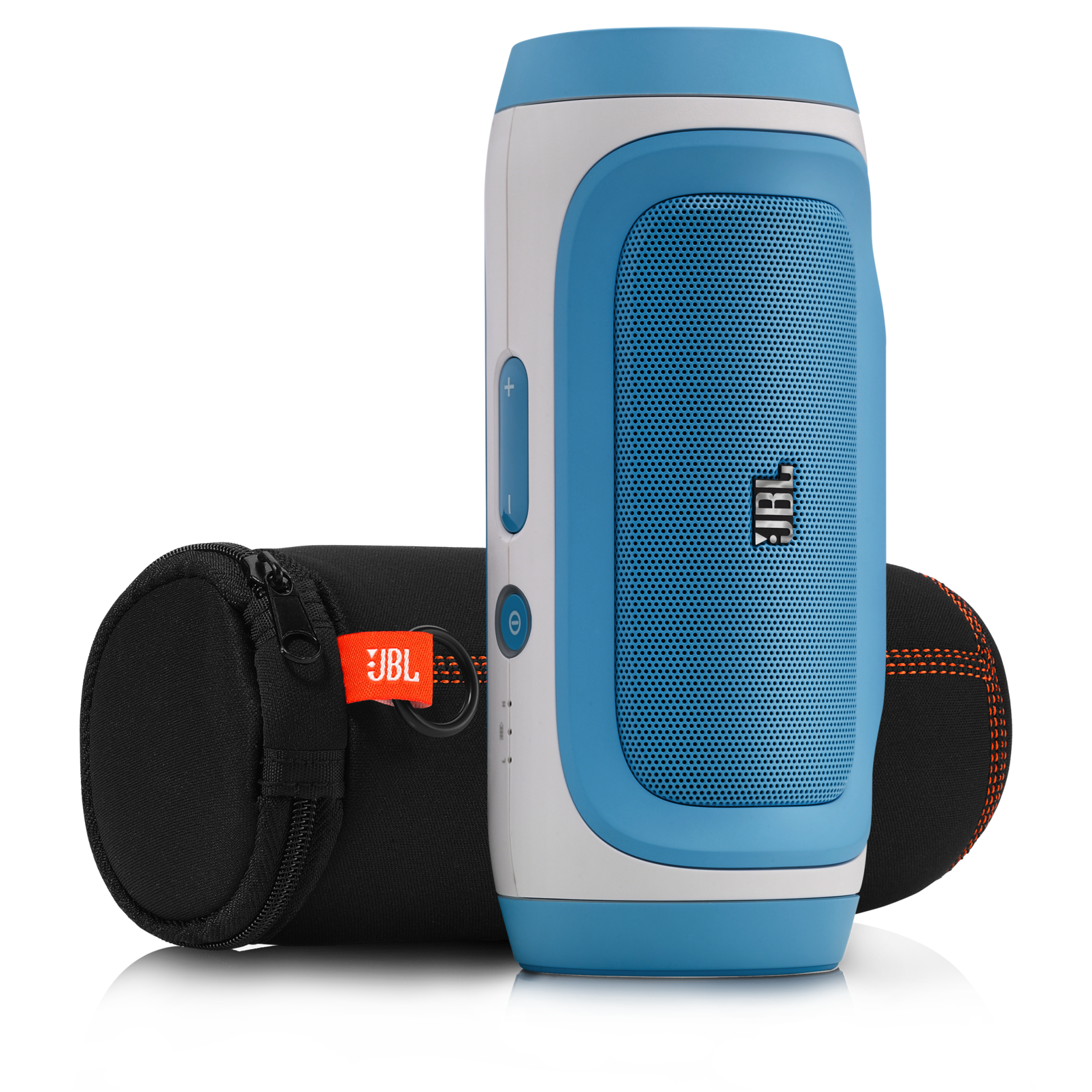 JBL Charge - Blue-Z - Portable Wireless Bluetooth Speaker with USB Charger - Detailshot 2