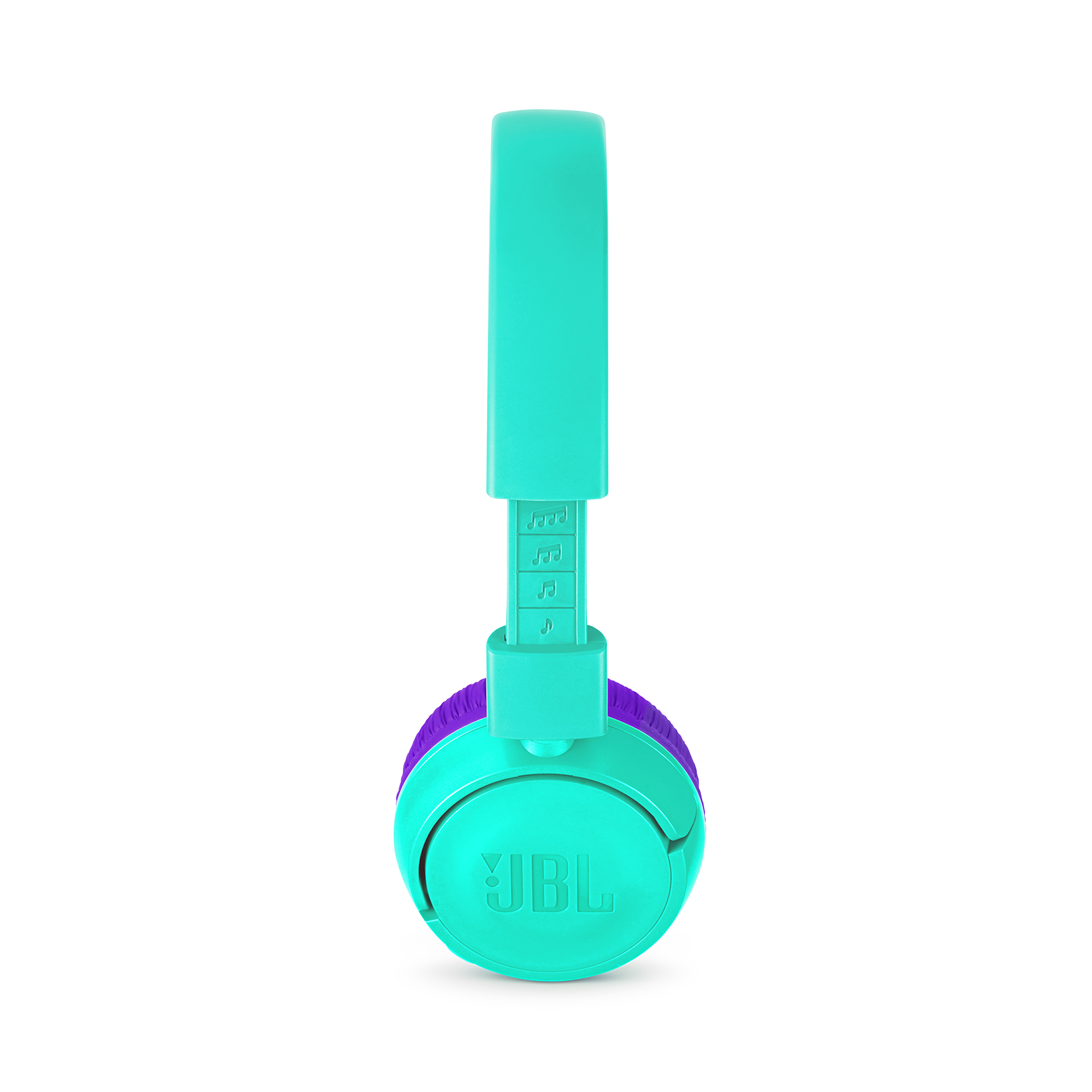 JBL JR300BT - Teal - Kids Wireless on-ear headphones - Detailshot 1