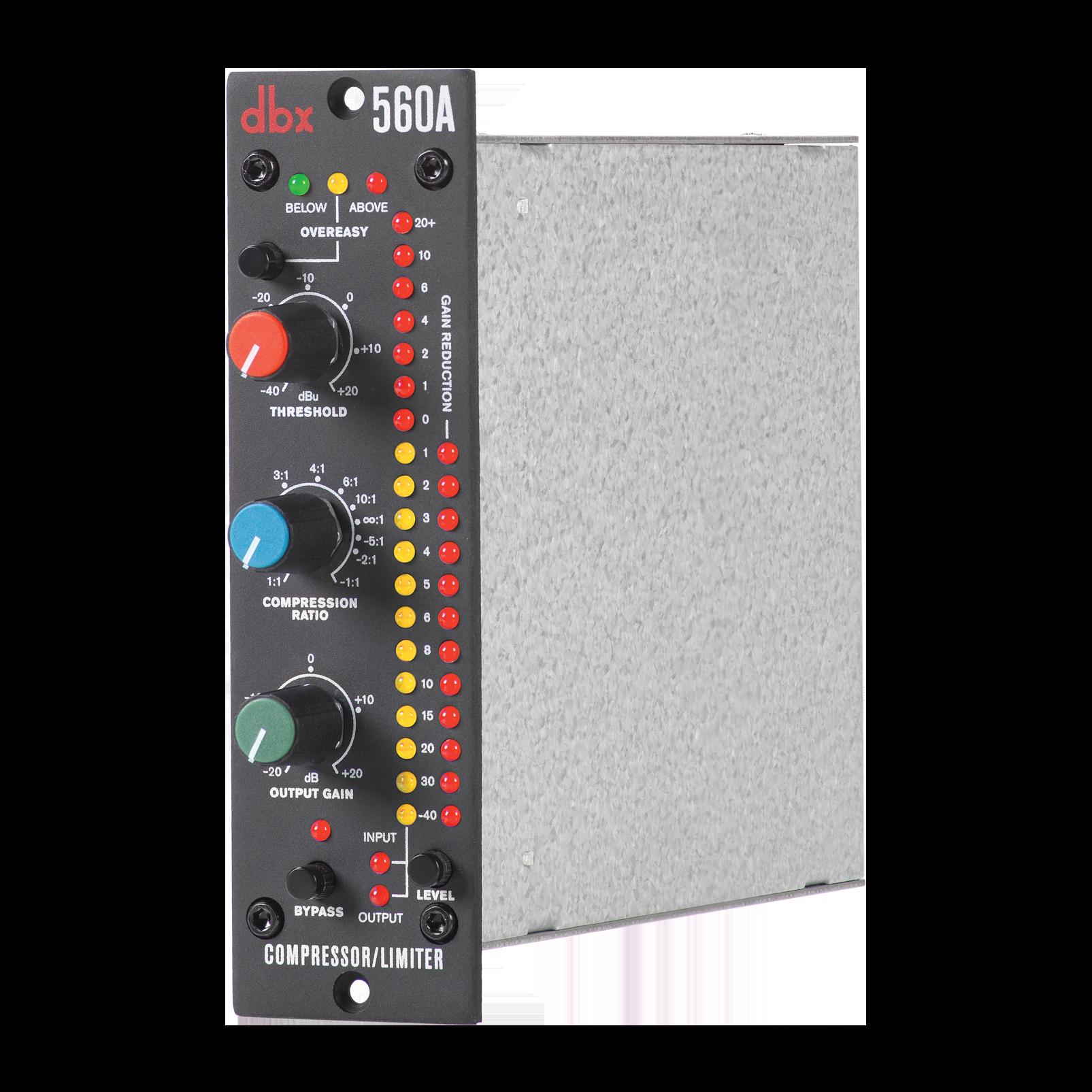 560A - Black - Compressor/Limiter - 500 Series - Detailshot 1