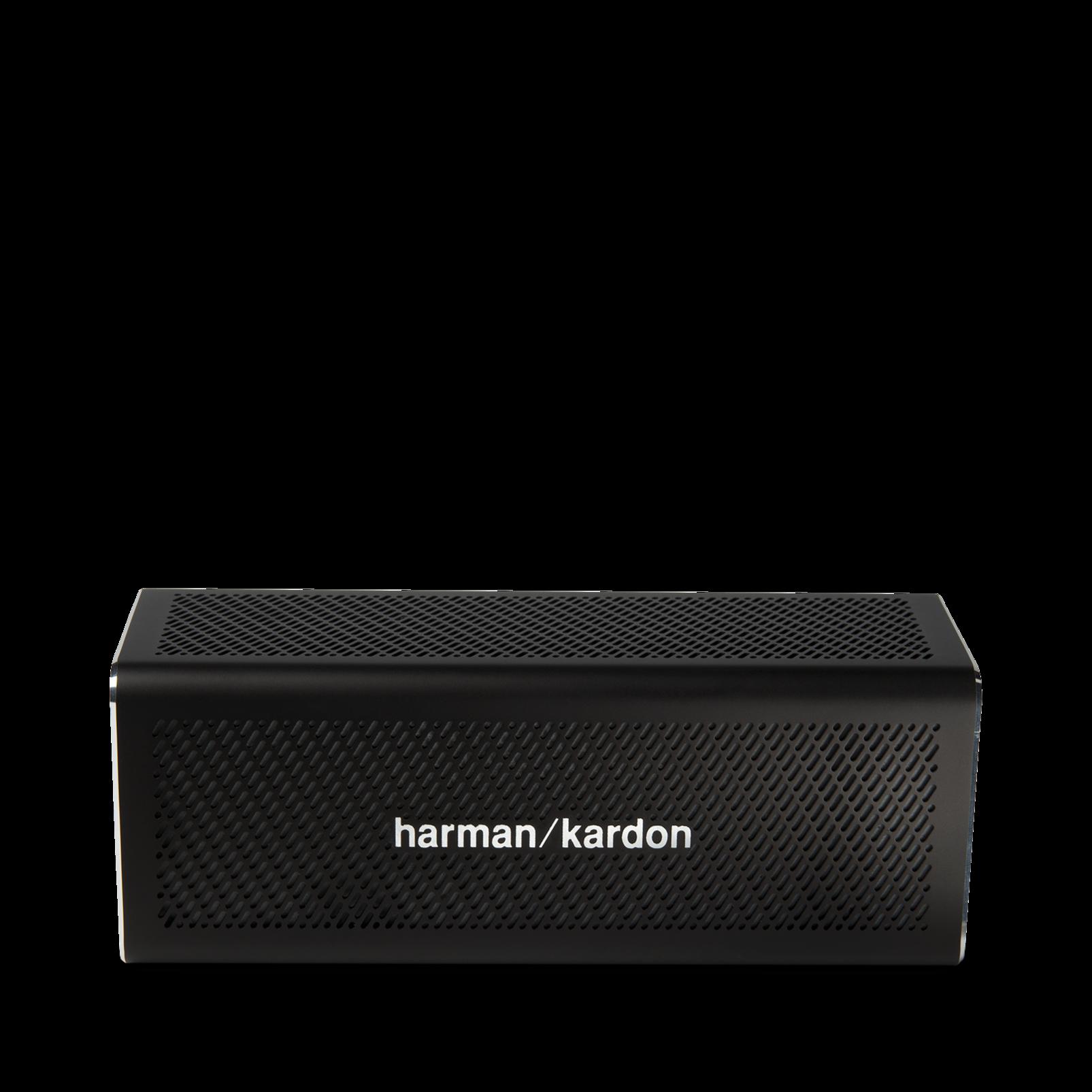 HK One - Black - Portable Bluetooth Speaker - Front